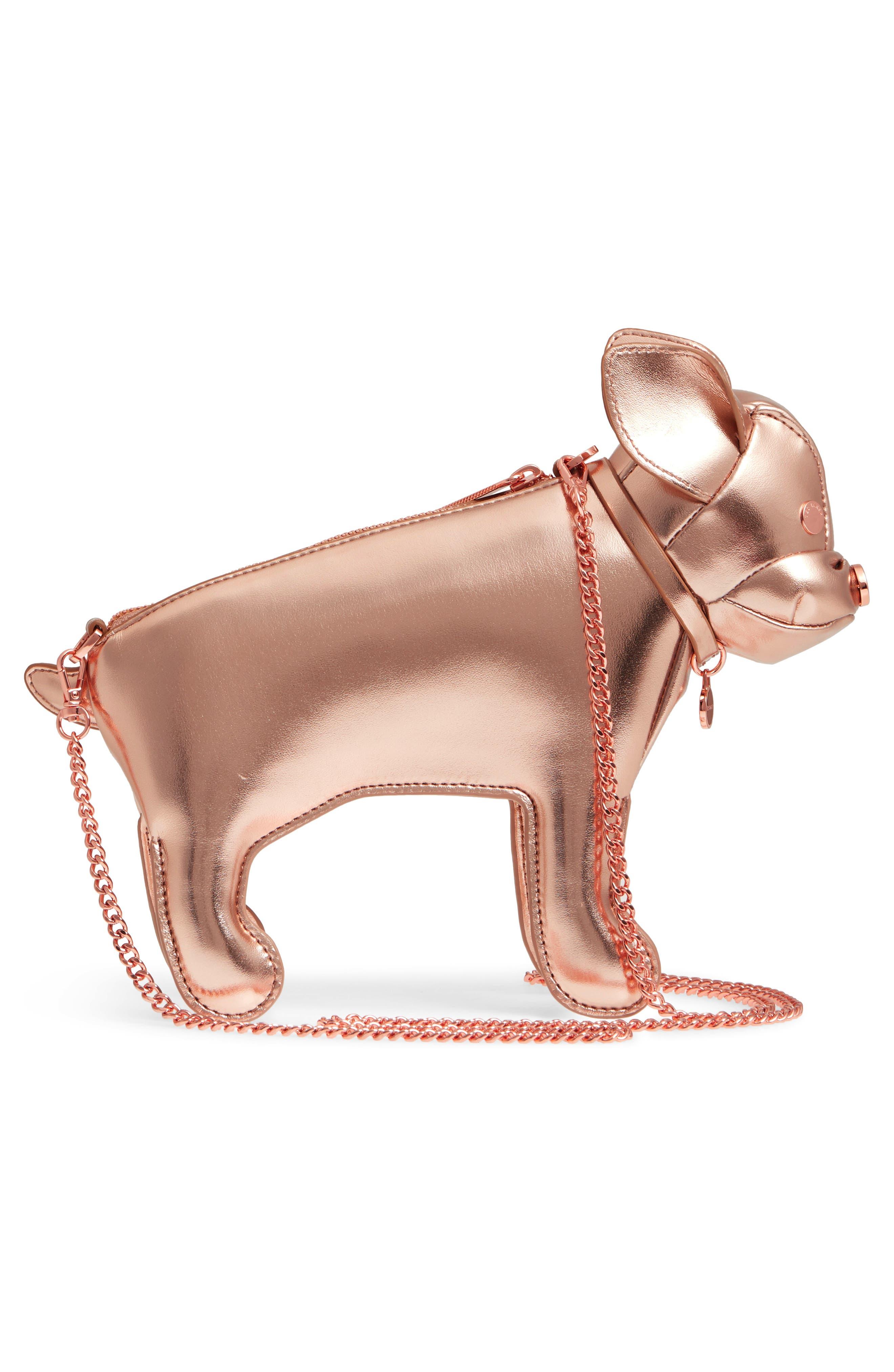 Boston Terrier Crossbody Bag,                             Alternate thumbnail 6, color,
