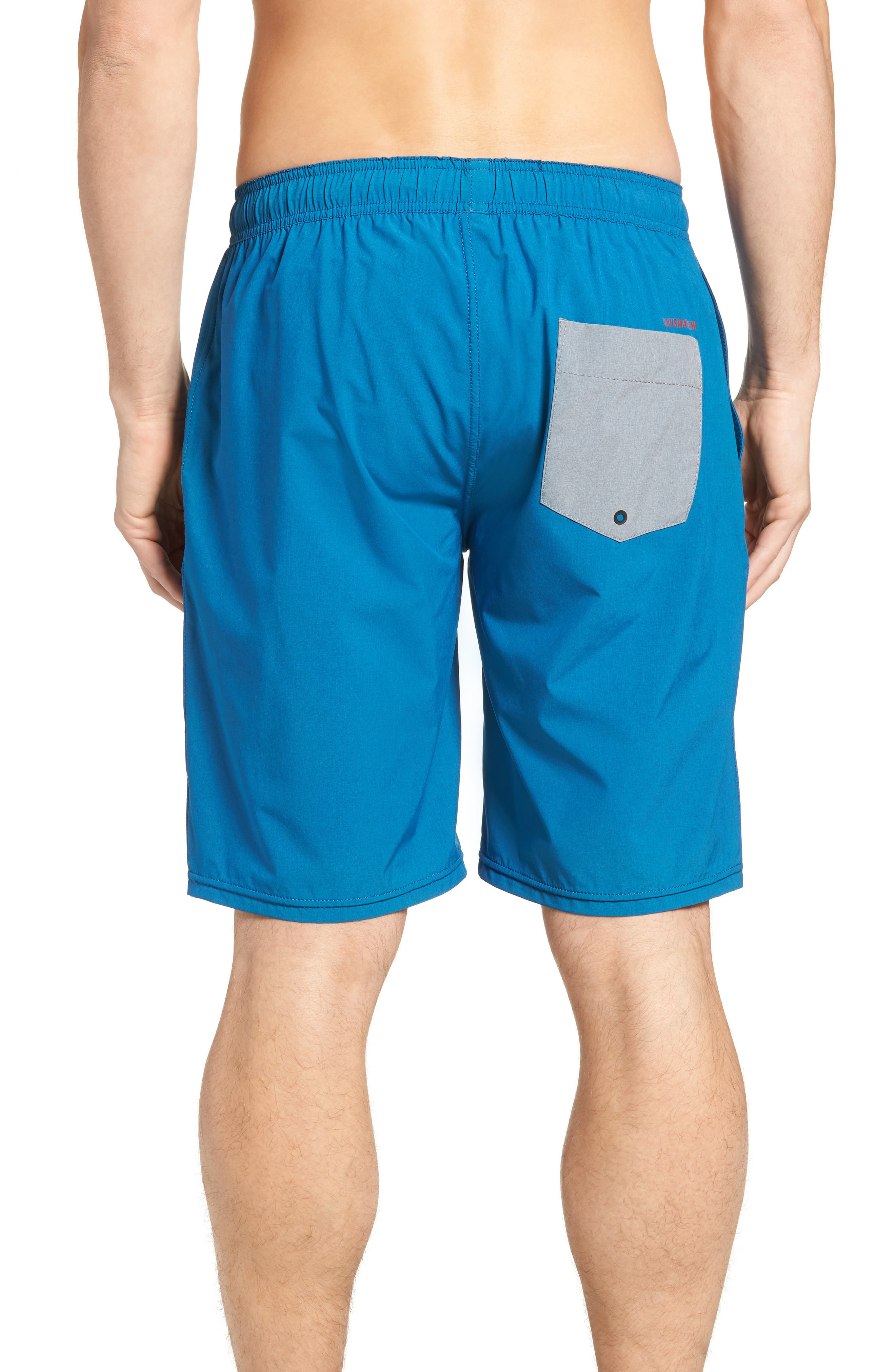 The Pace Performance Shorts,                             Alternate thumbnail 2, color,                             HEATHER FRENCH BLUE