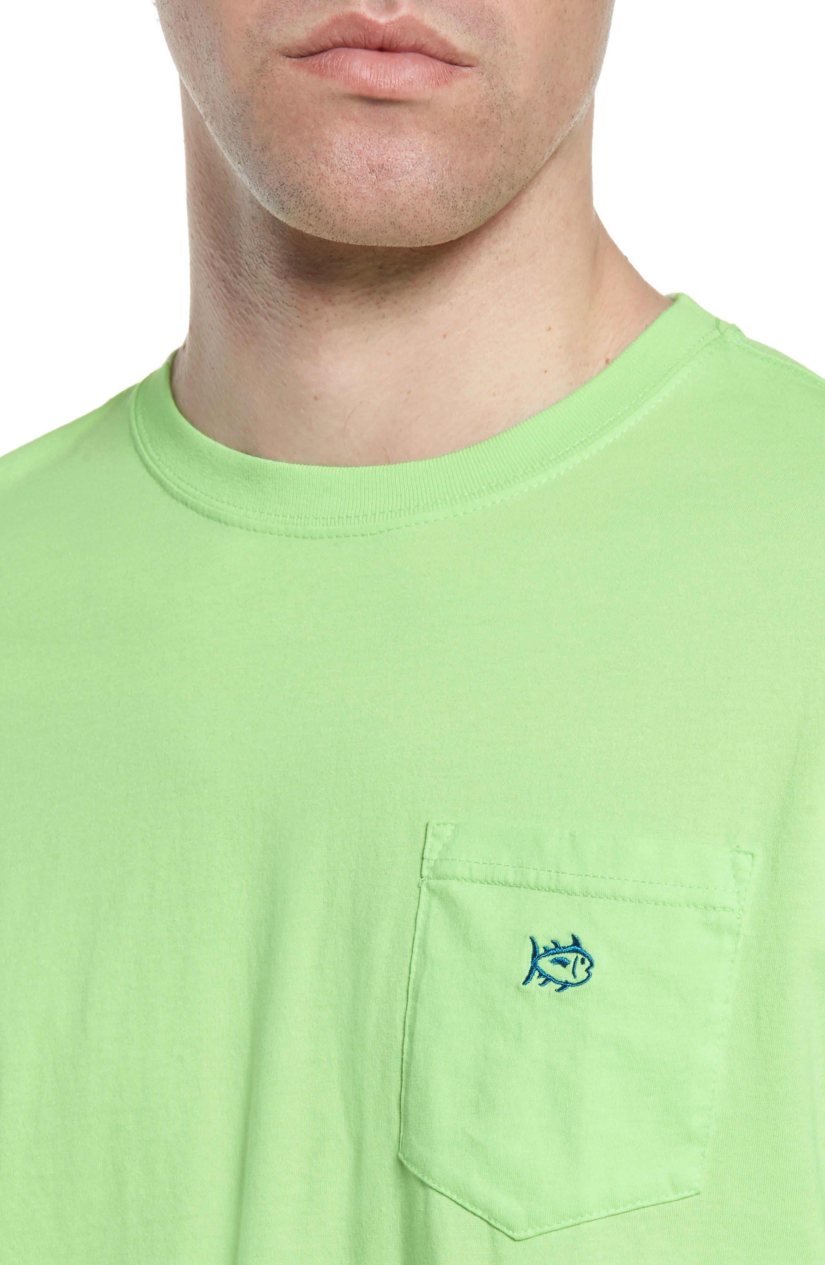 Skipjack Logo Regular Fit T-Shirt,                             Alternate thumbnail 4, color,                             381