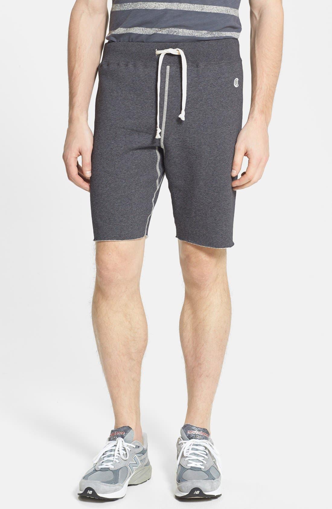 Knit Cotton Shorts,                             Main thumbnail 1, color,