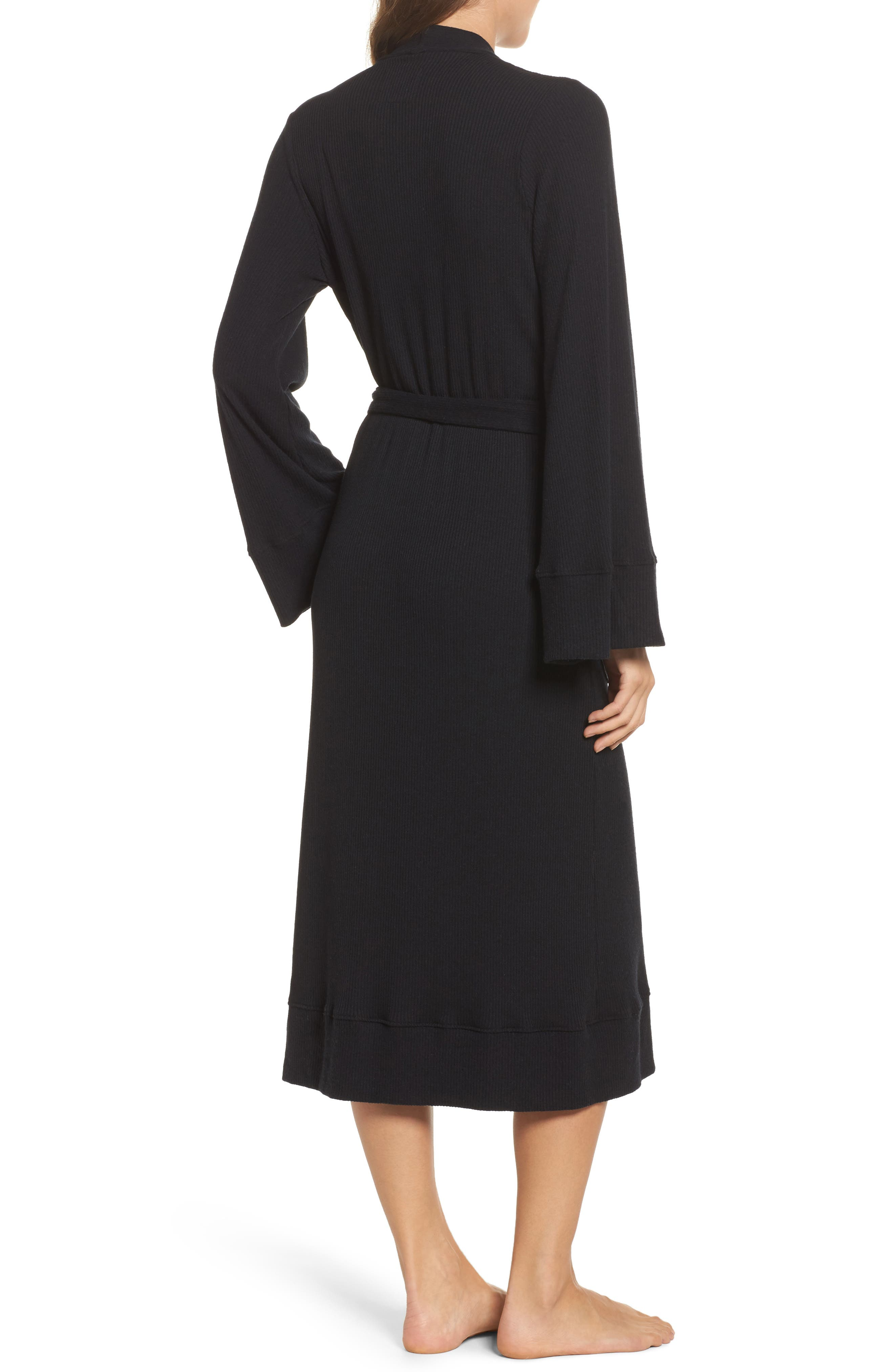 Love Knit Ribbed Robe,                             Alternate thumbnail 3, color,