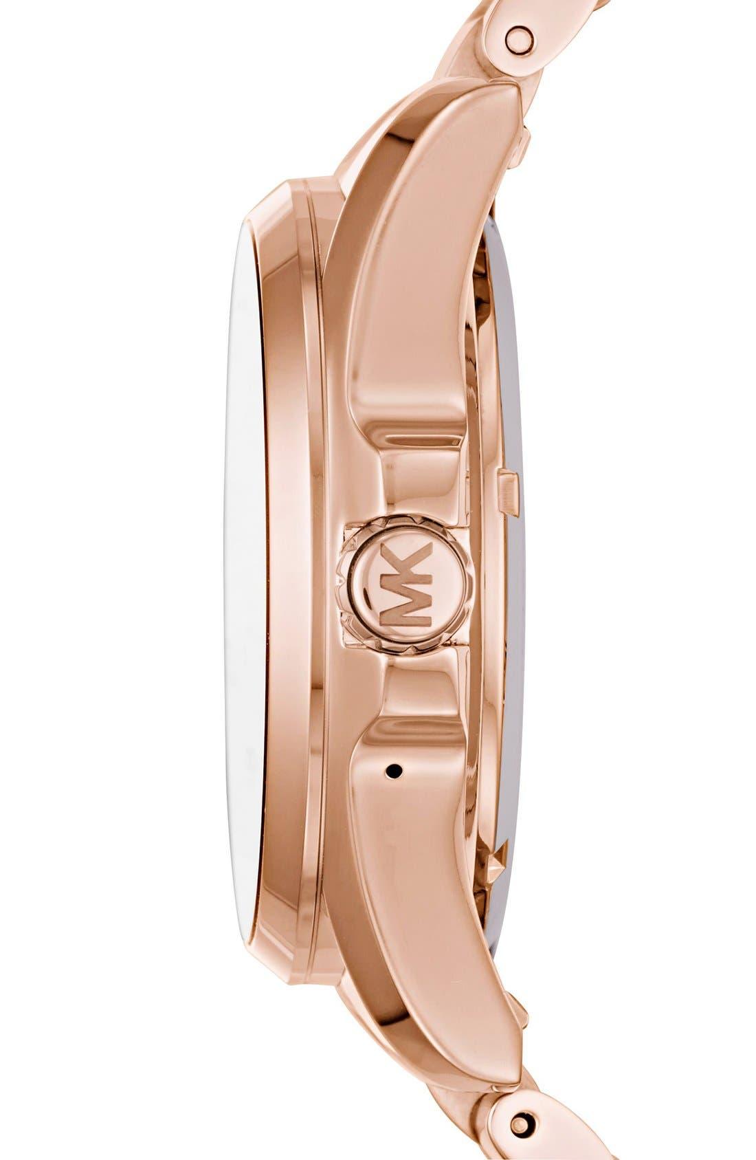 MICHAEL Michael Kors Bradshaw Access Bracelet Smart Watch, 45mm,                             Alternate thumbnail 63, color,