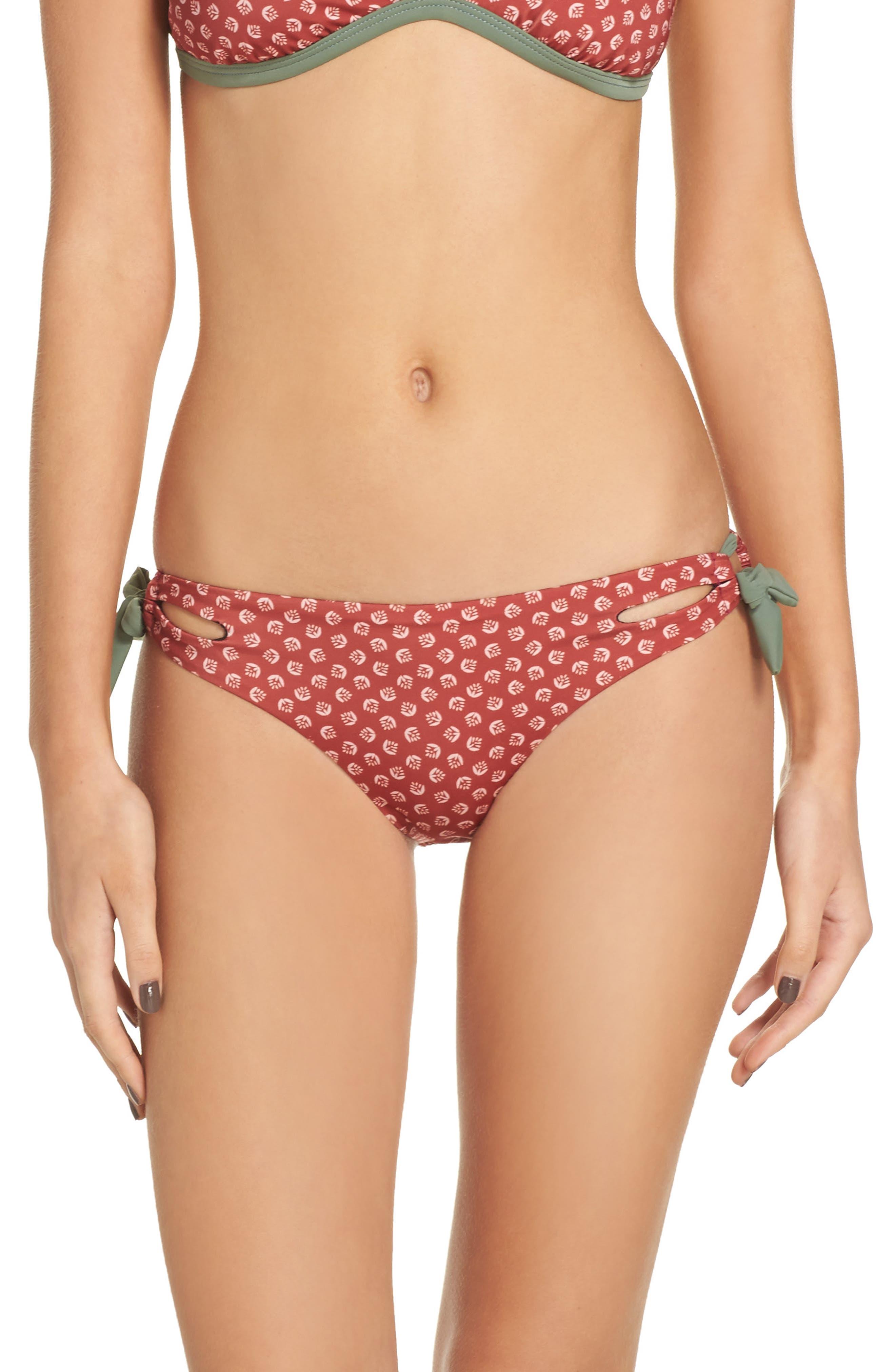 Side Tie Bikini Bottoms,                             Main thumbnail 2, color,