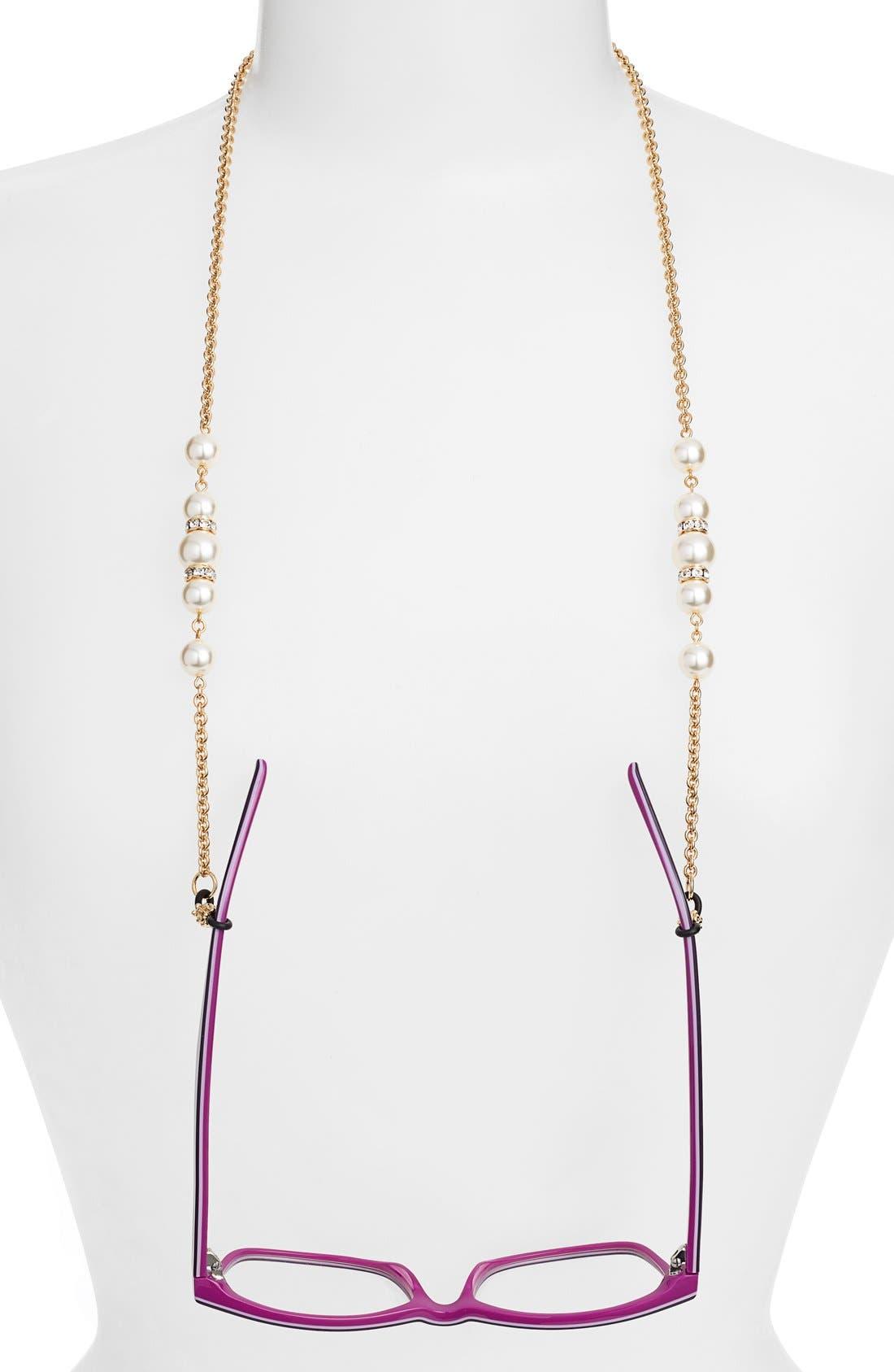 'Cadabra' Swarovski Crystal Eyeglass Chain,                             Main thumbnail 4, color,