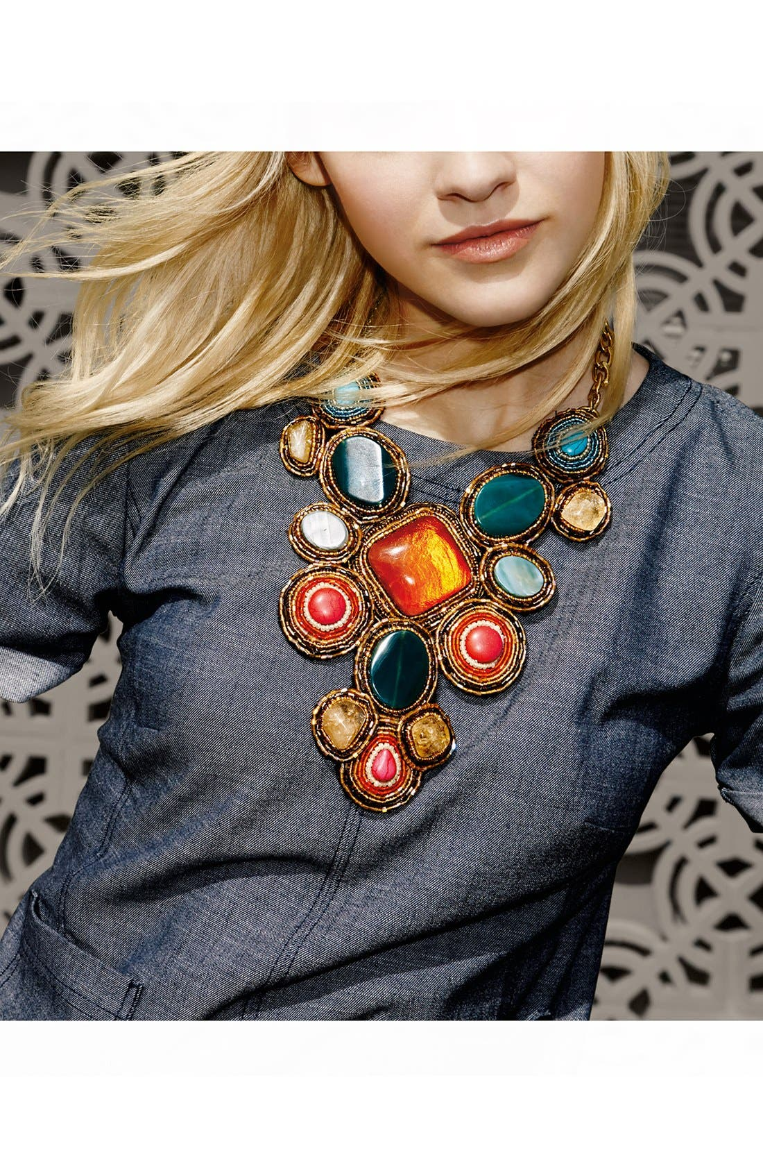 'Beads of Glory' Collar Necklace,                             Alternate thumbnail 4, color,                             960