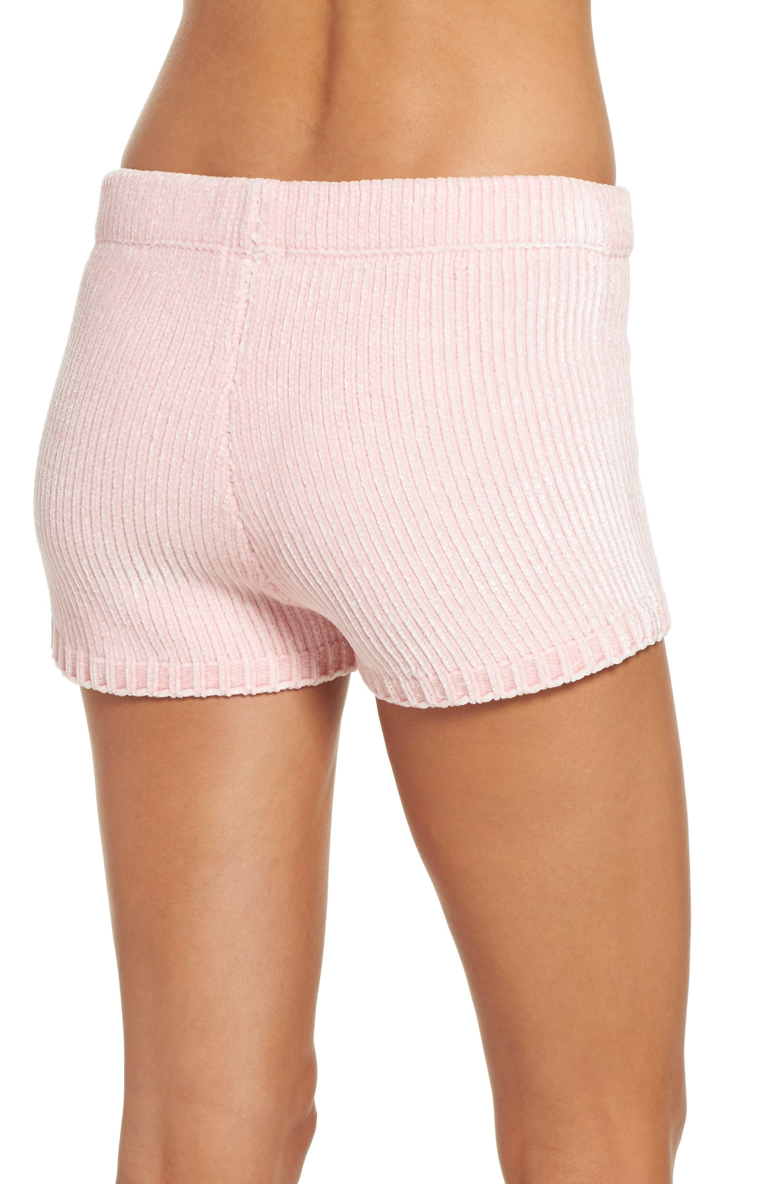 Chenille Shorts,                             Alternate thumbnail 4, color,