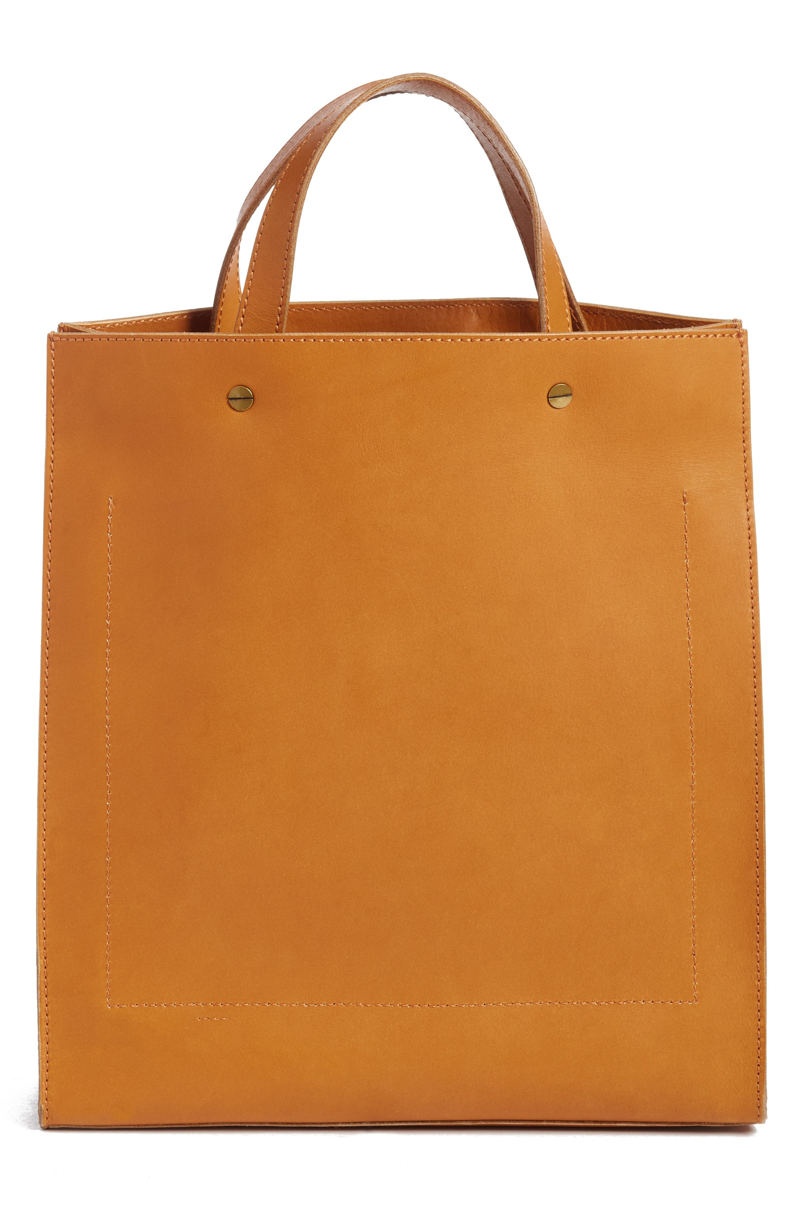 The Passenger Convertible Leather Tote,                             Alternate thumbnail 8, color,