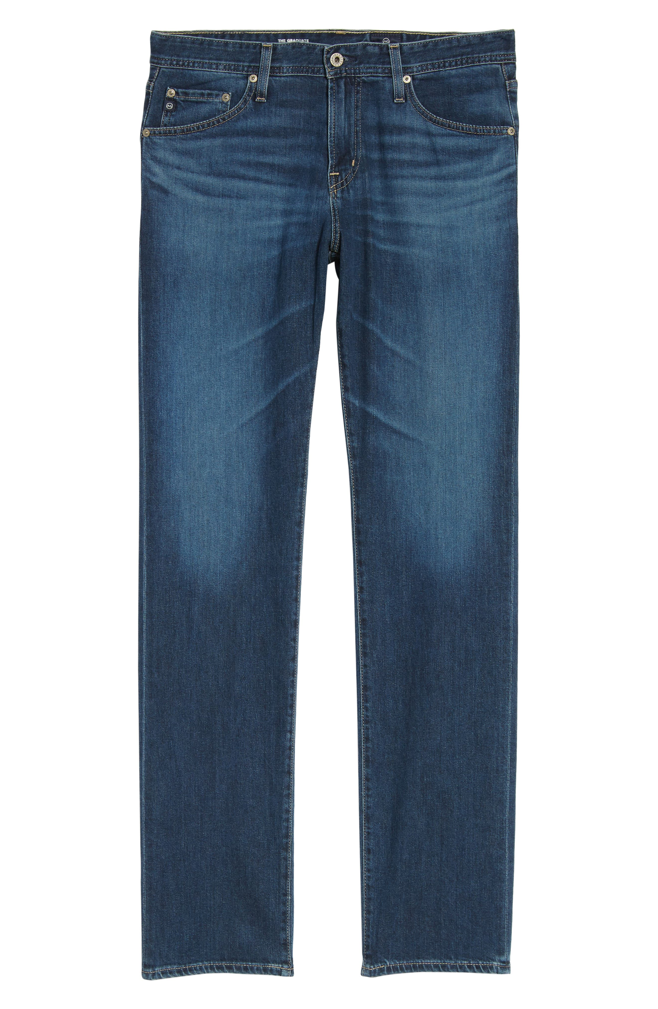 Graduate Slim Straight Leg Jeans,                             Alternate thumbnail 11, color,