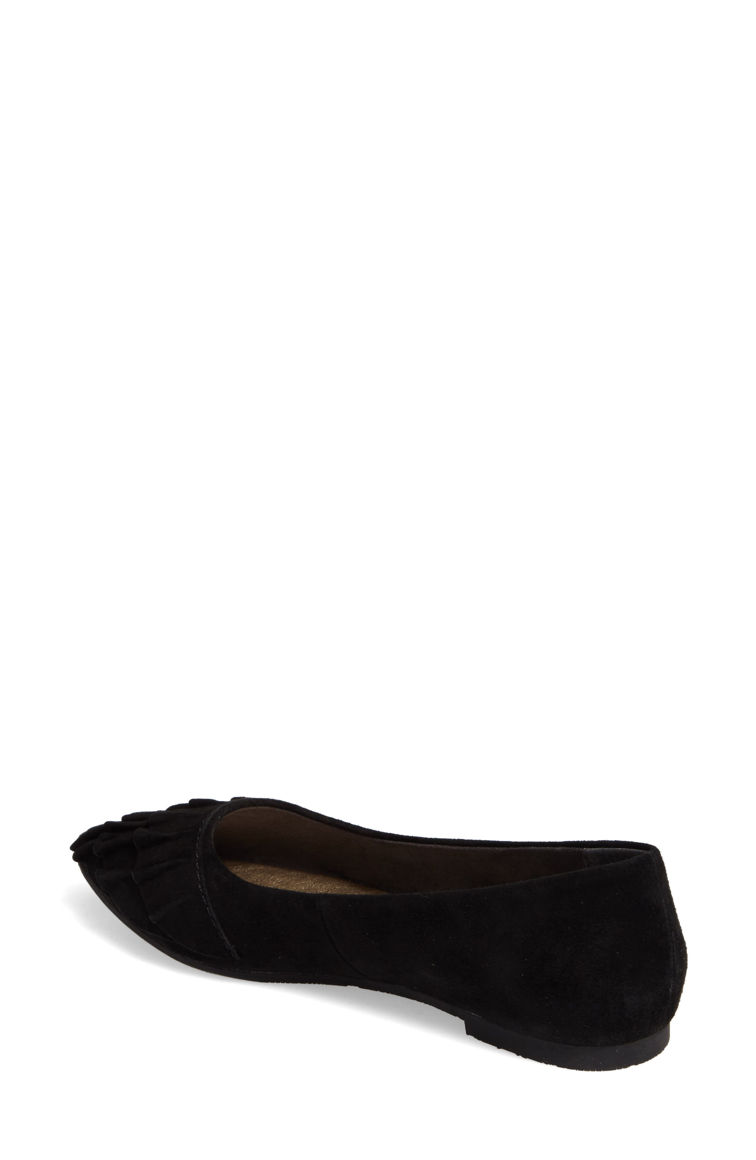 Downstage Pointy Toe Flat,                             Alternate thumbnail 7, color,
