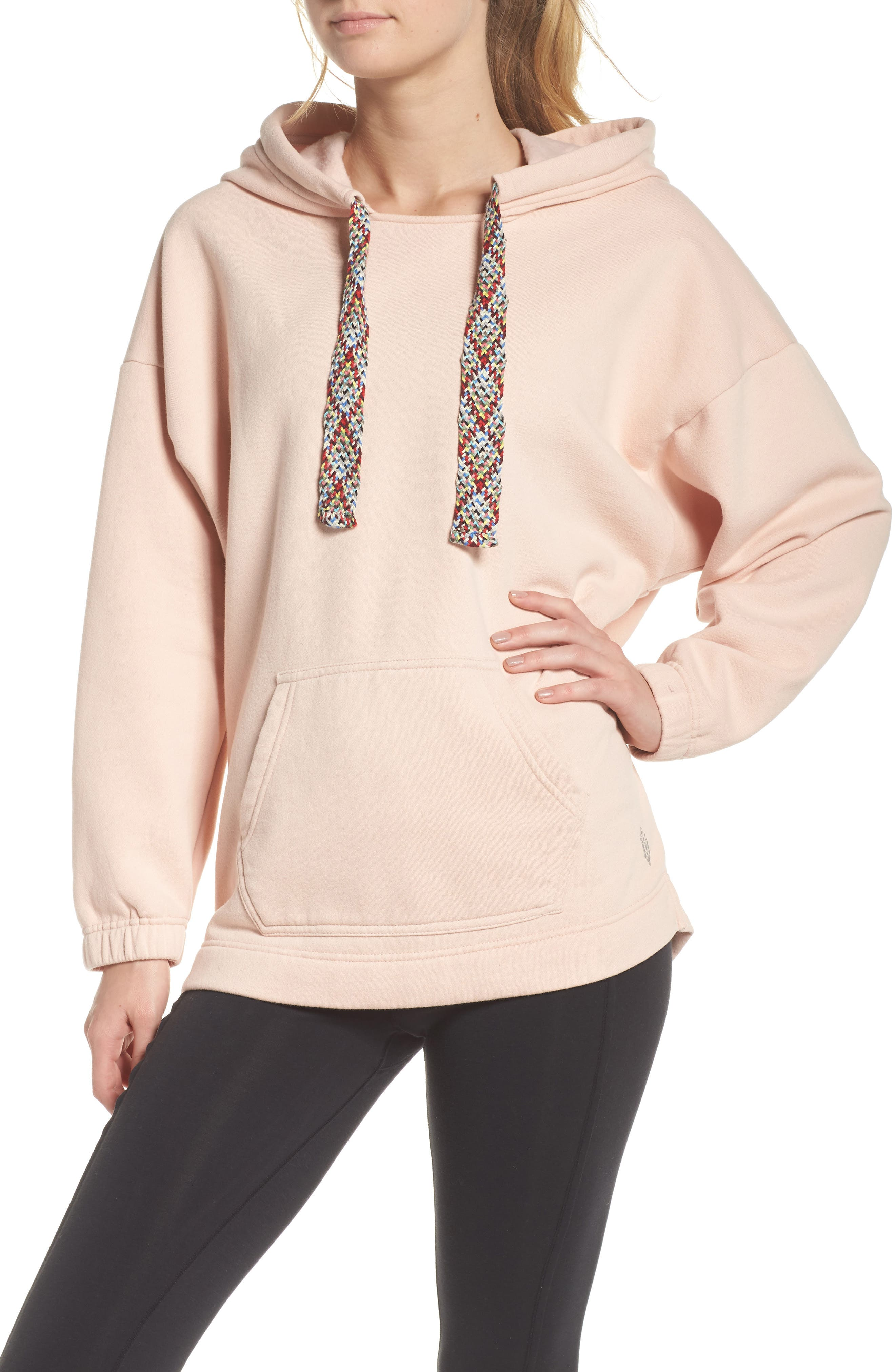 FREE PEOPLE MOVEMENT Chill Out Hoodie in Mauve