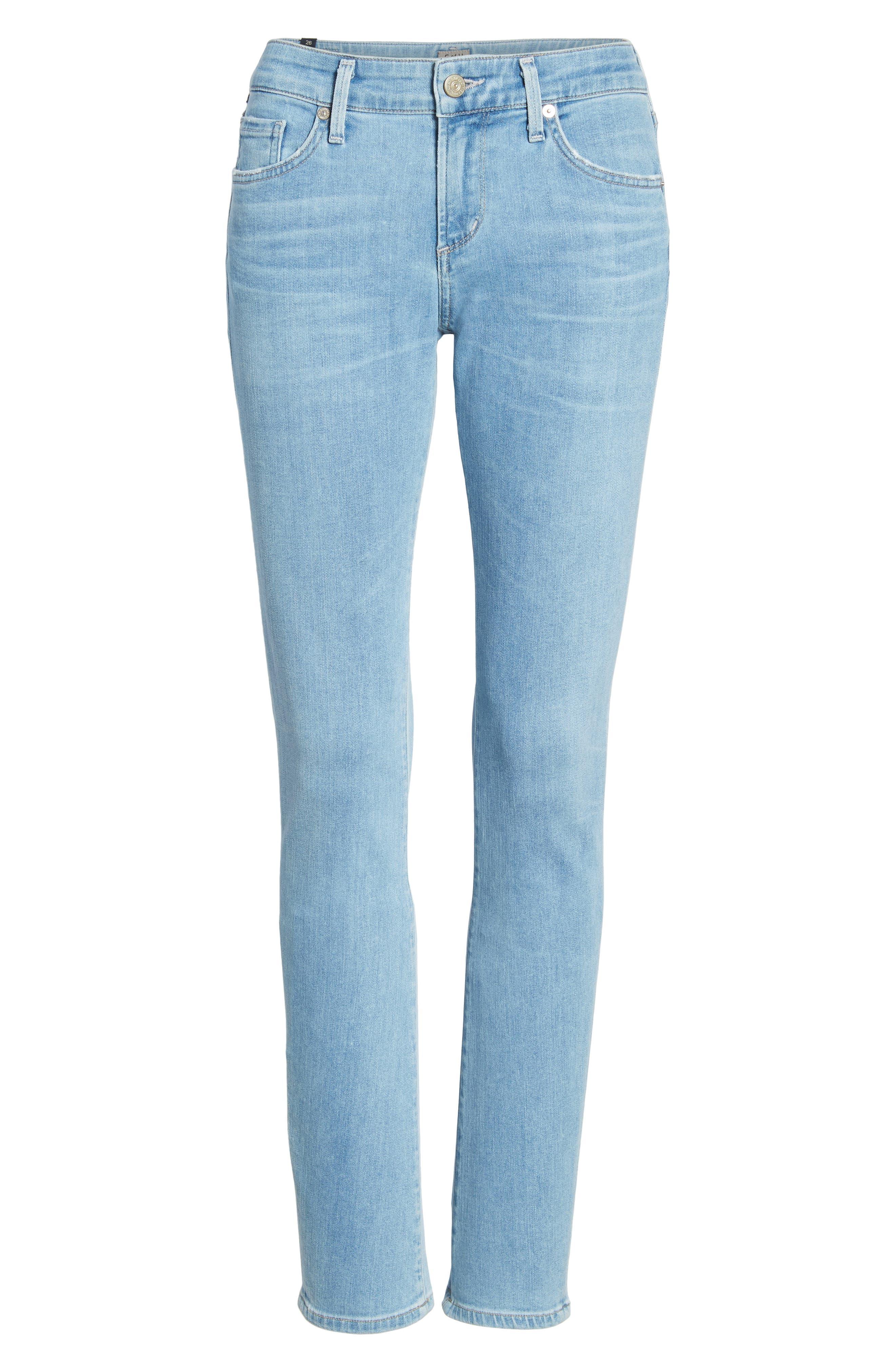 Arielle Slim Jeans,                             Alternate thumbnail 7, color,                             455