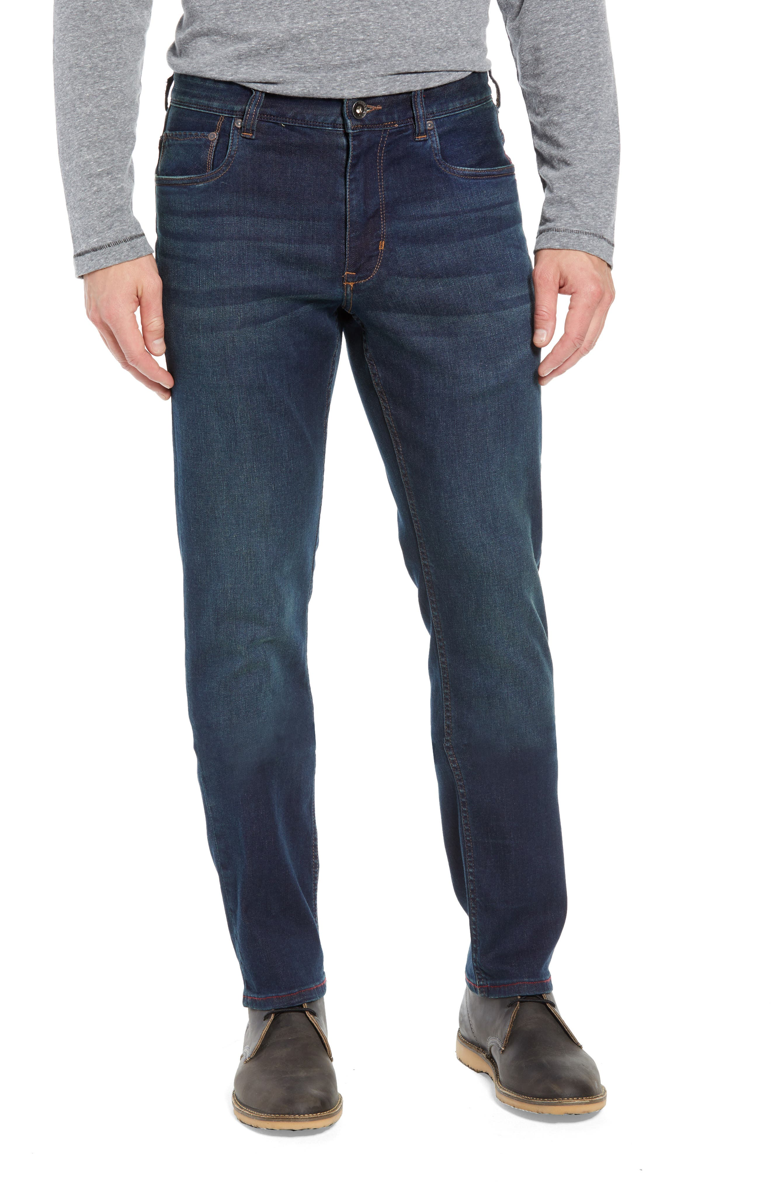 Costa Rica Vintage Regular Fit Jeans,                         Main,                         color, RINSE WASH