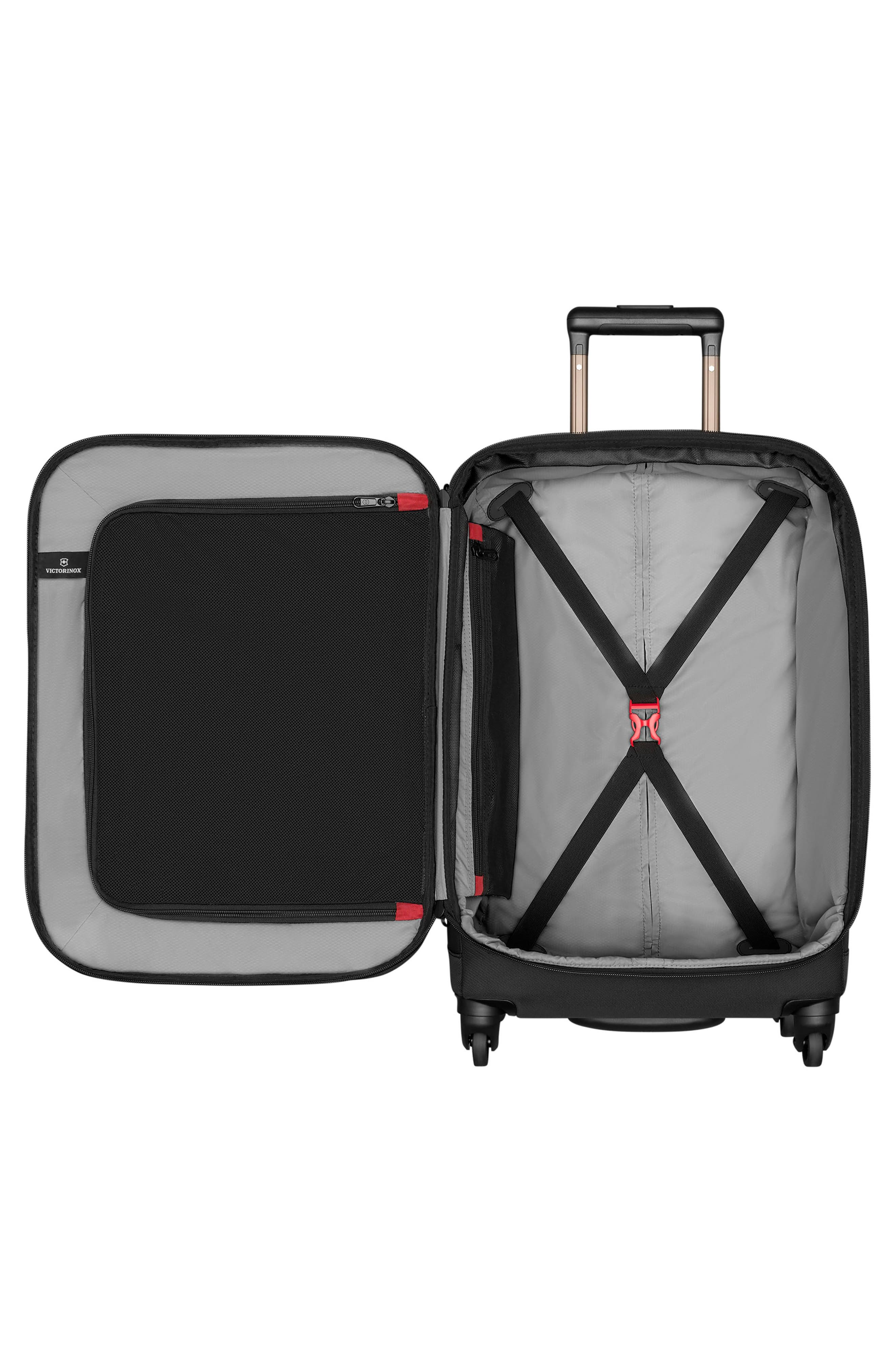 Avolve 3.0 24-Inch Large Wheeled Packing Case,                             Alternate thumbnail 2, color,                             BLACK