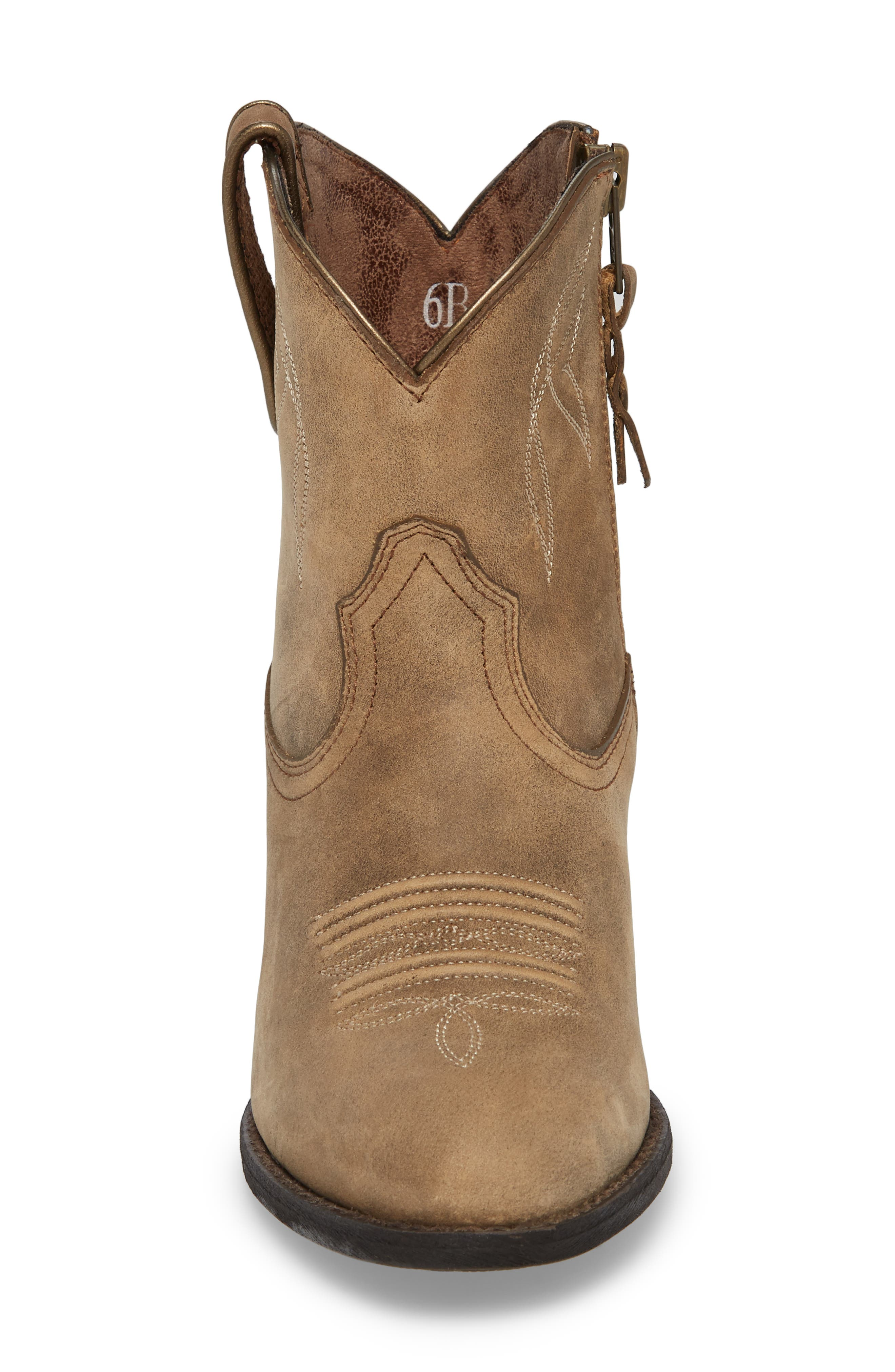 Darlin Short Western Boot,                             Alternate thumbnail 4, color,                             204