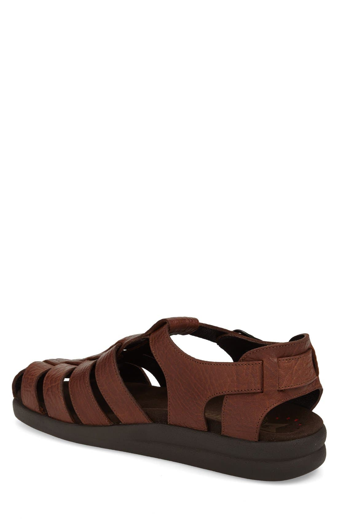 'Sam' Sandal,                             Alternate thumbnail 6, color,                             TAN