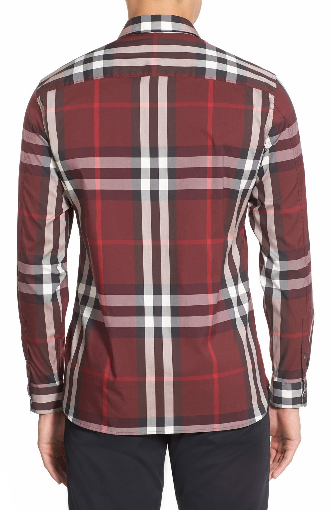 Nelson Check Sport Shirt,                             Alternate thumbnail 49, color,