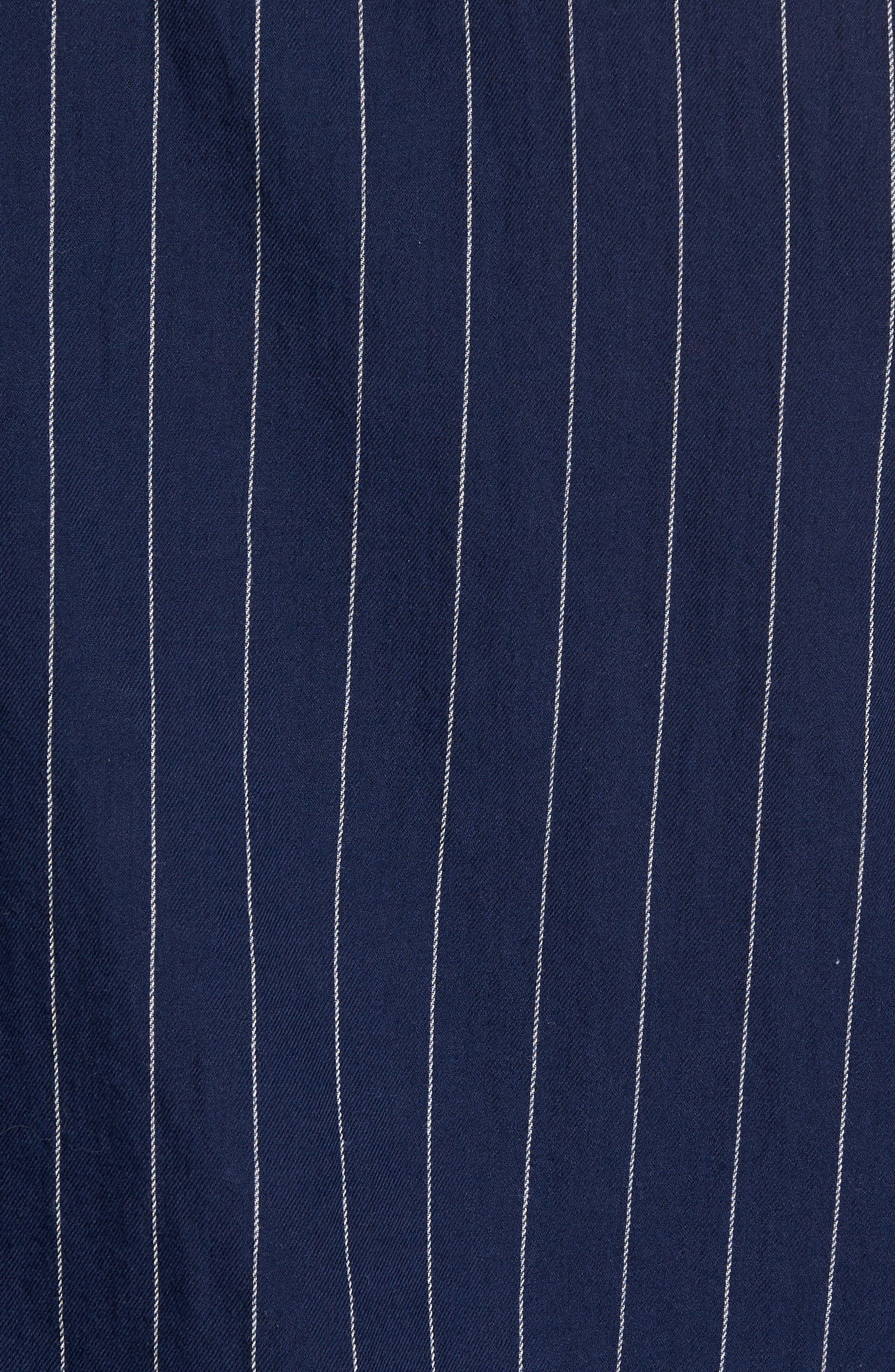 Stripe Twill Shirt,                             Alternate thumbnail 9, color,