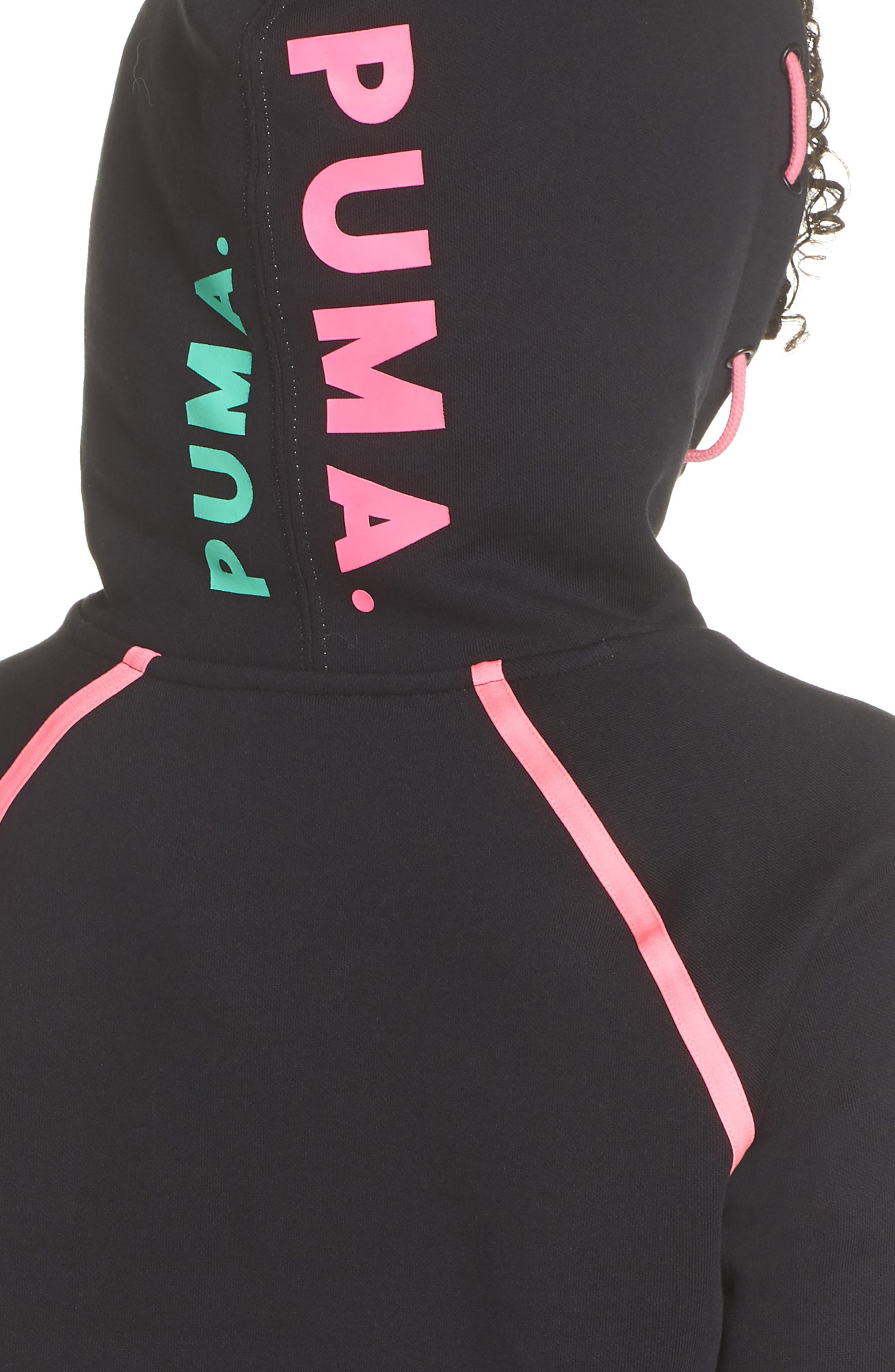 Reflect Hoodie,                             Alternate thumbnail 4, color,                             PUMA BLACK