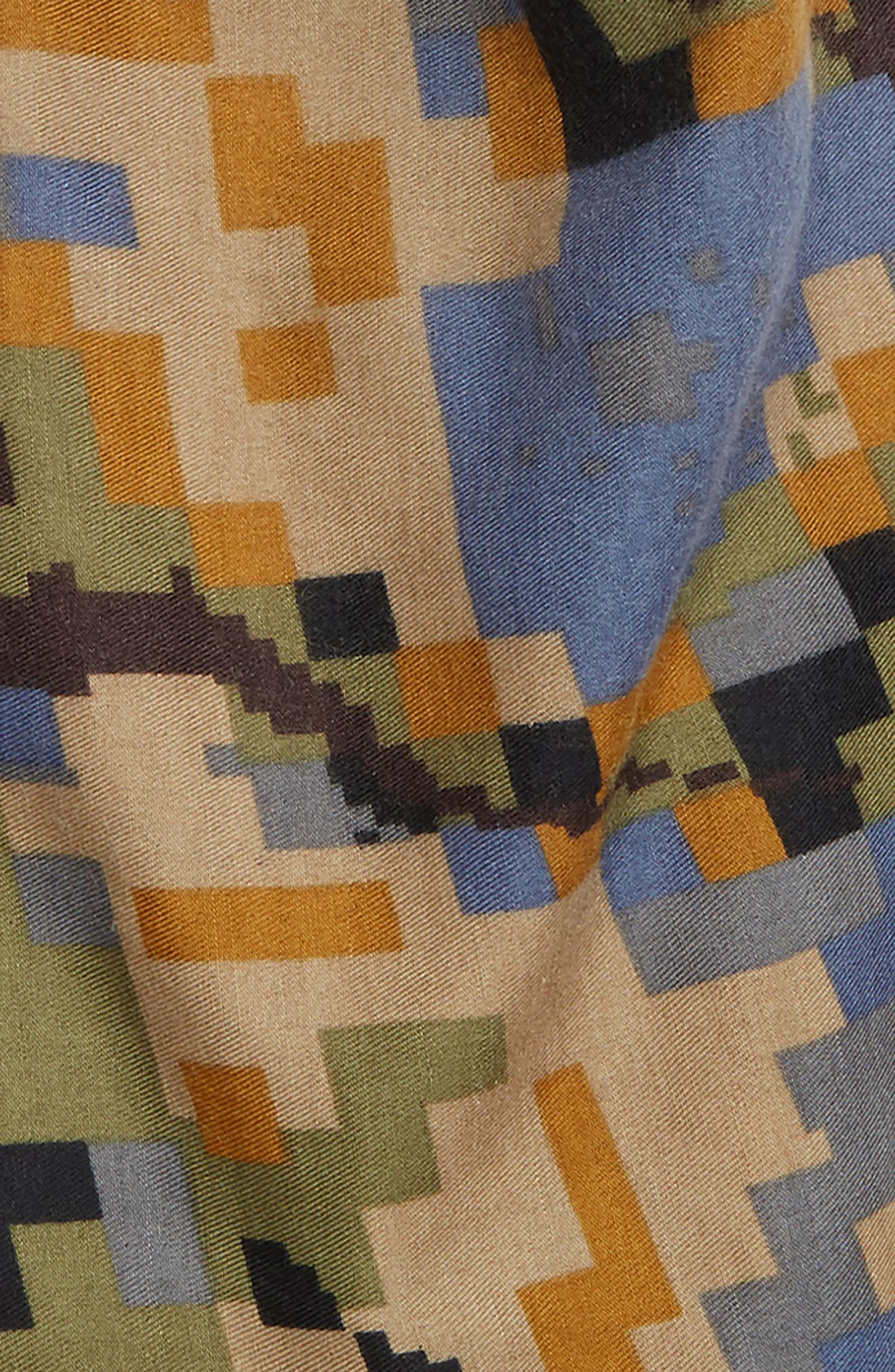 Pixelated Camo Scarf,                             Alternate thumbnail 3, color,                             300