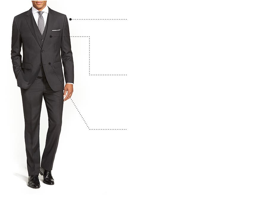 Men\u0027s Suit Fit Guide \u0026 Size Chart