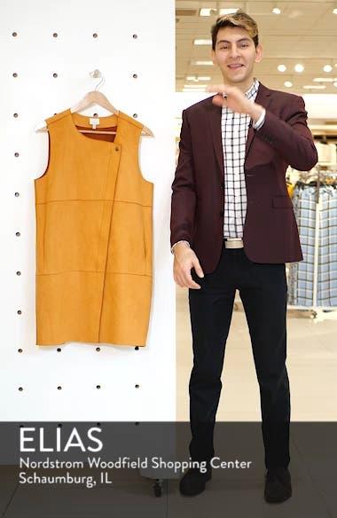 Asymmetrical Faux Suede Vest, sales video thumbnail