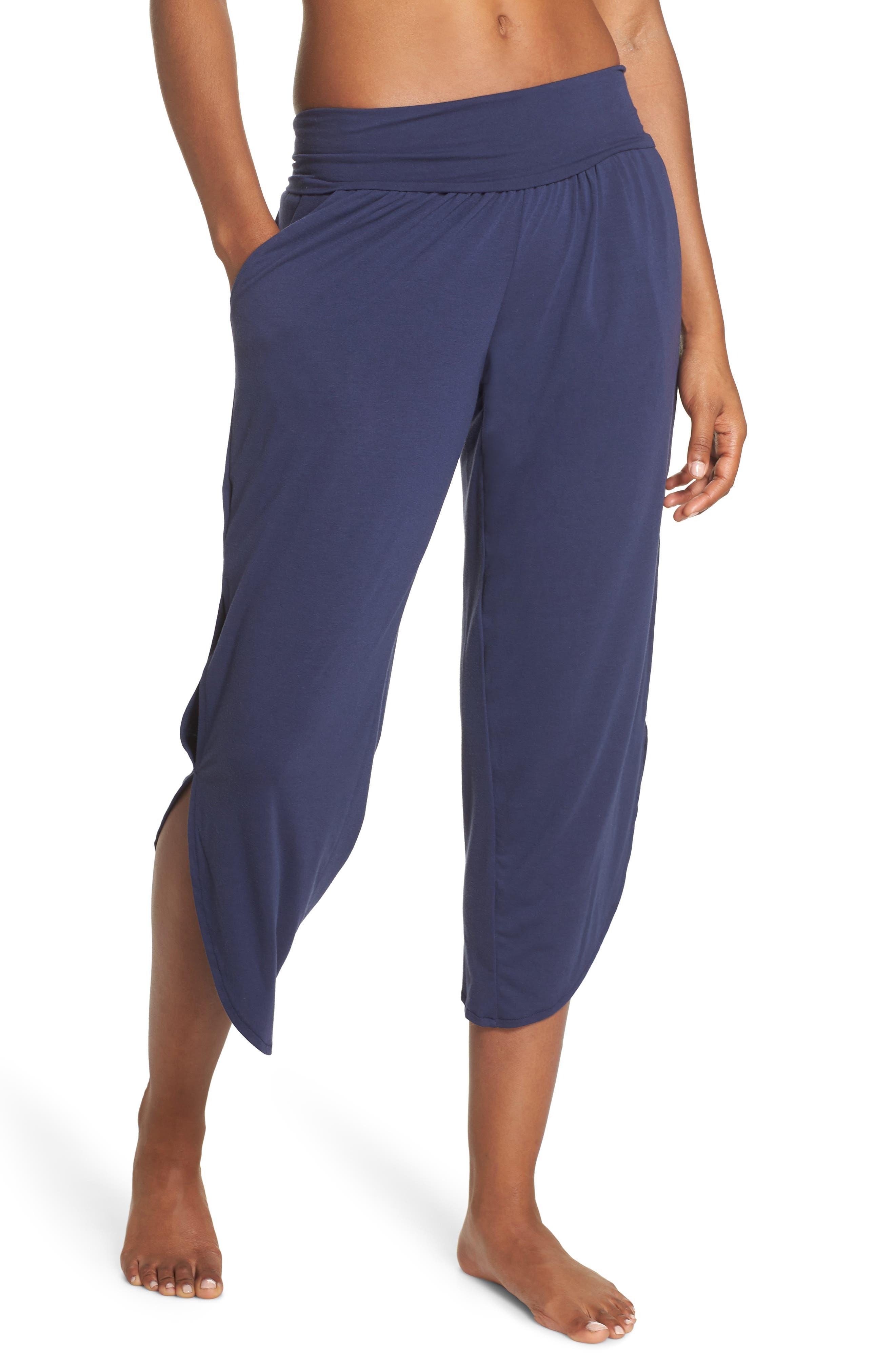 Foldover Waist Tulip Pants,                         Main,                         color, THUNDER
