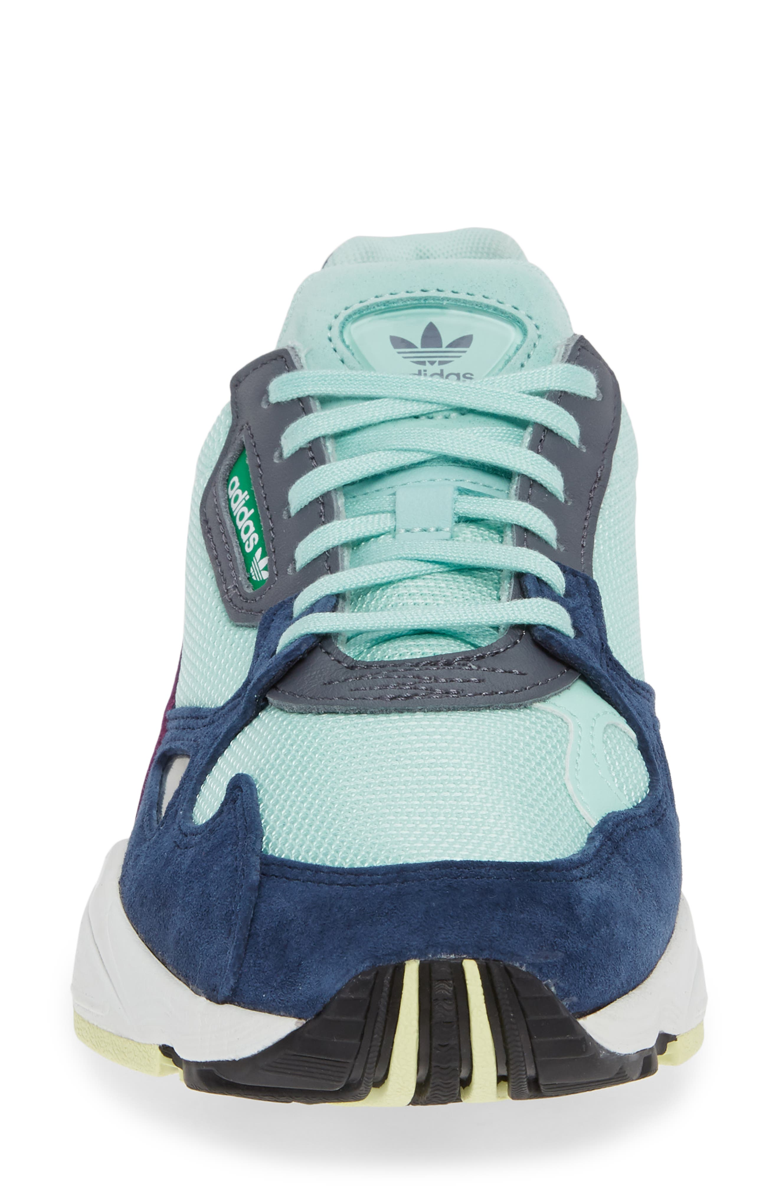 Falcon Sneaker,                             Alternate thumbnail 4, color,                             CLEAR MINT/ CLEAR MINT/ NAVY