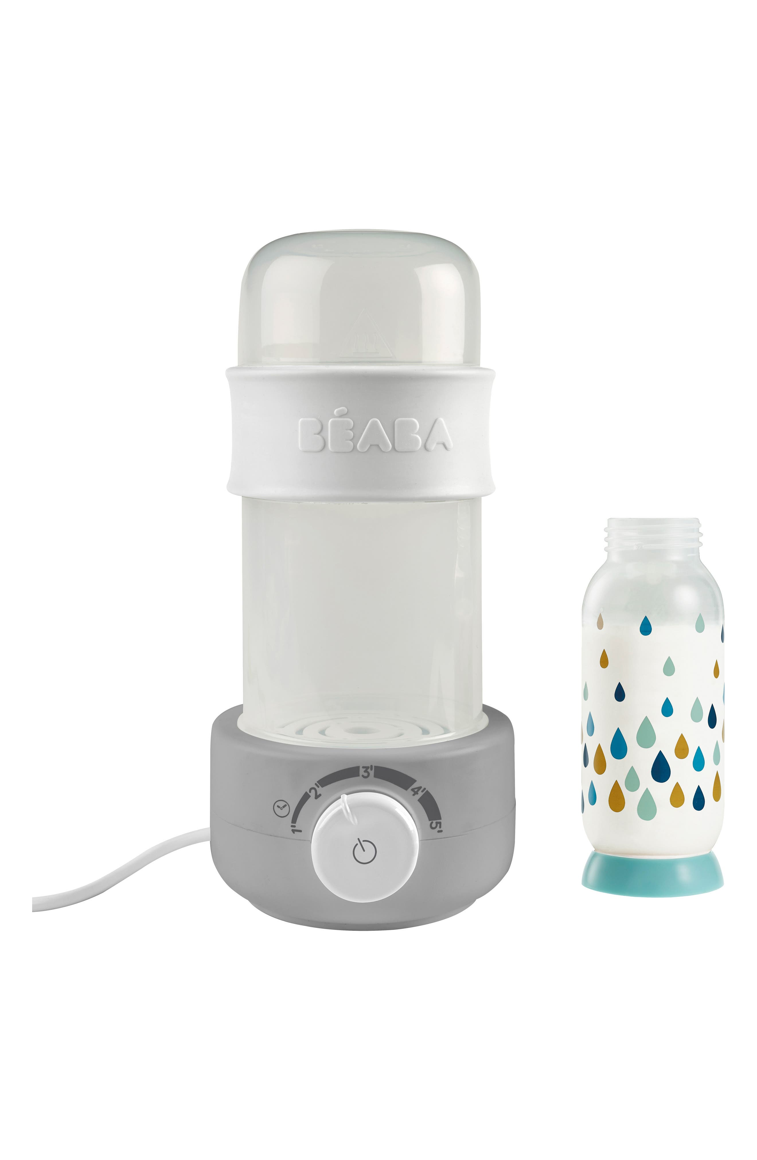 Baby Milk Bottle Warmer,                         Main,                         color, CLOUD