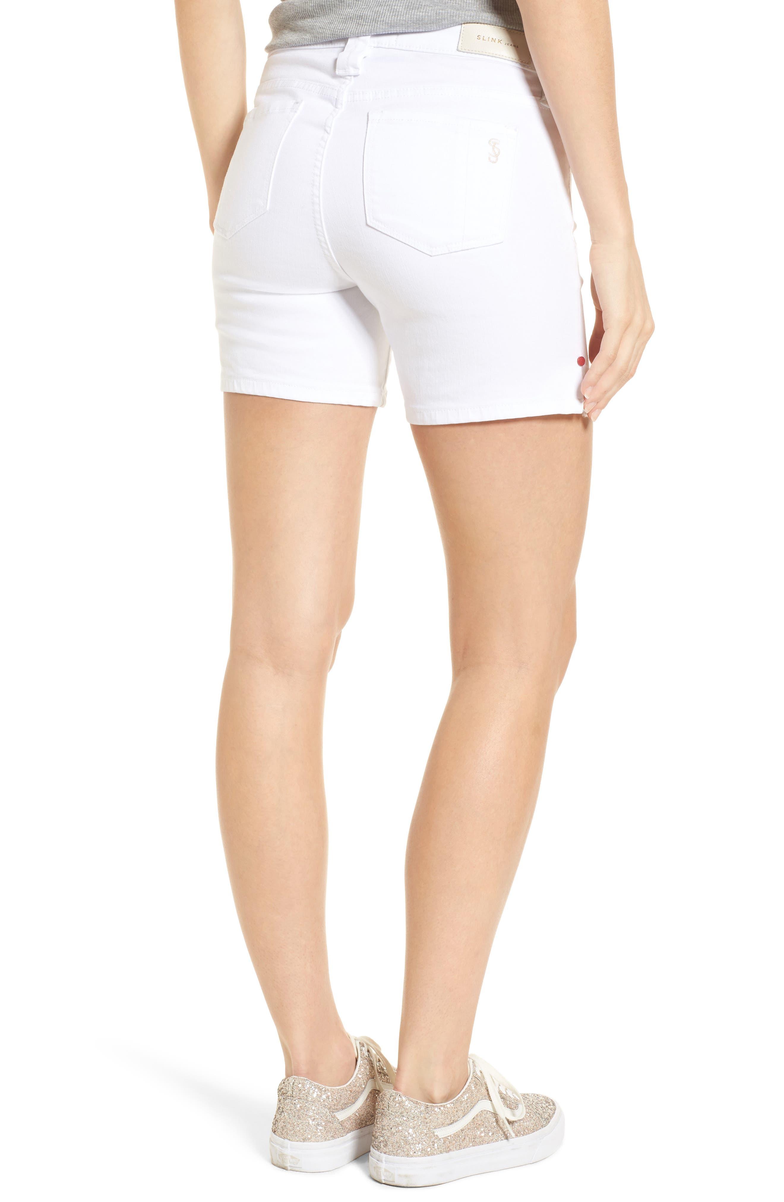 Side Vent Shorts,                             Alternate thumbnail 2, color,                             WHITE