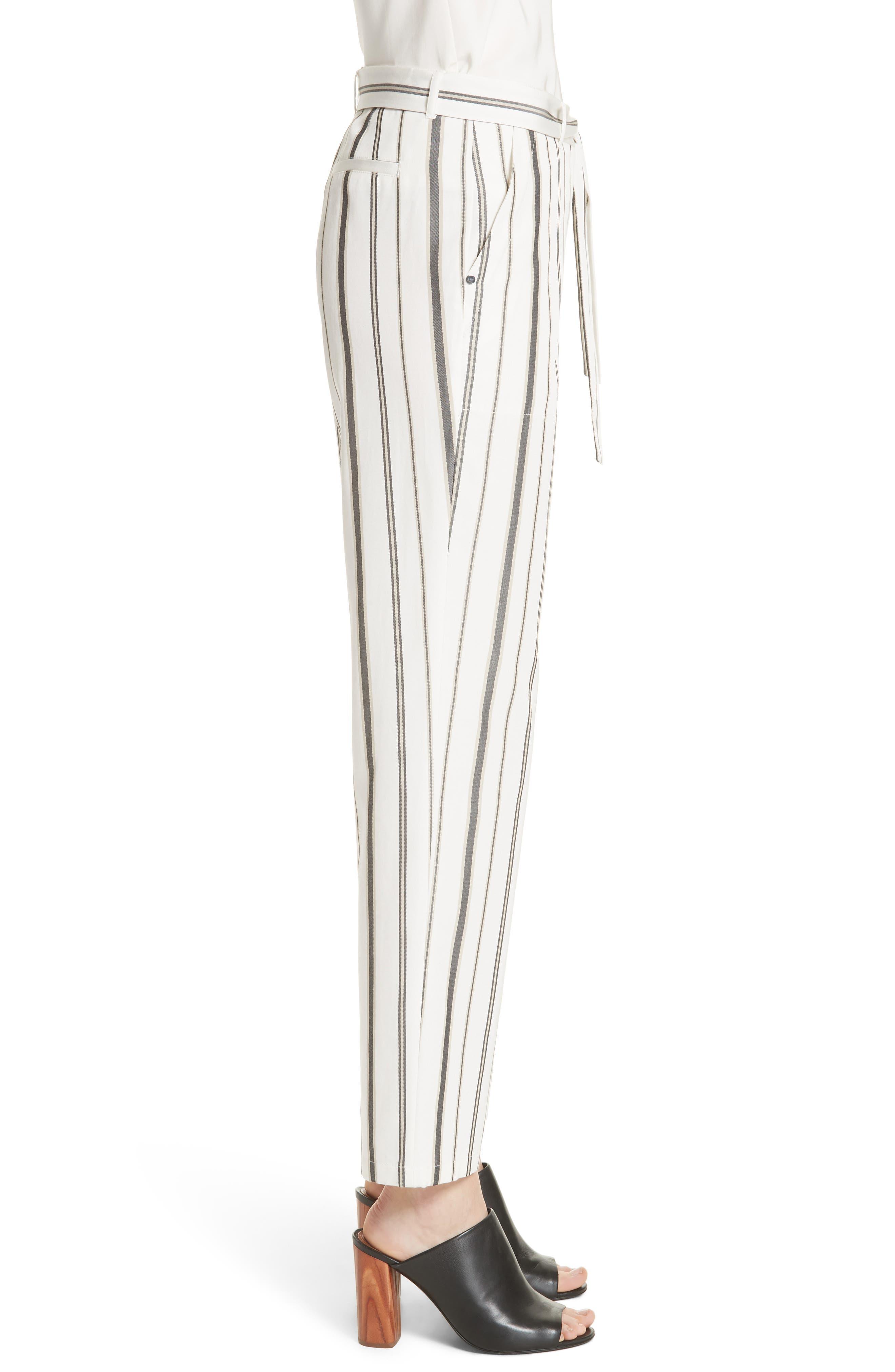 Fulton Gallant Stripe Pants,                             Alternate thumbnail 3, color,                             CLOUD MULTI