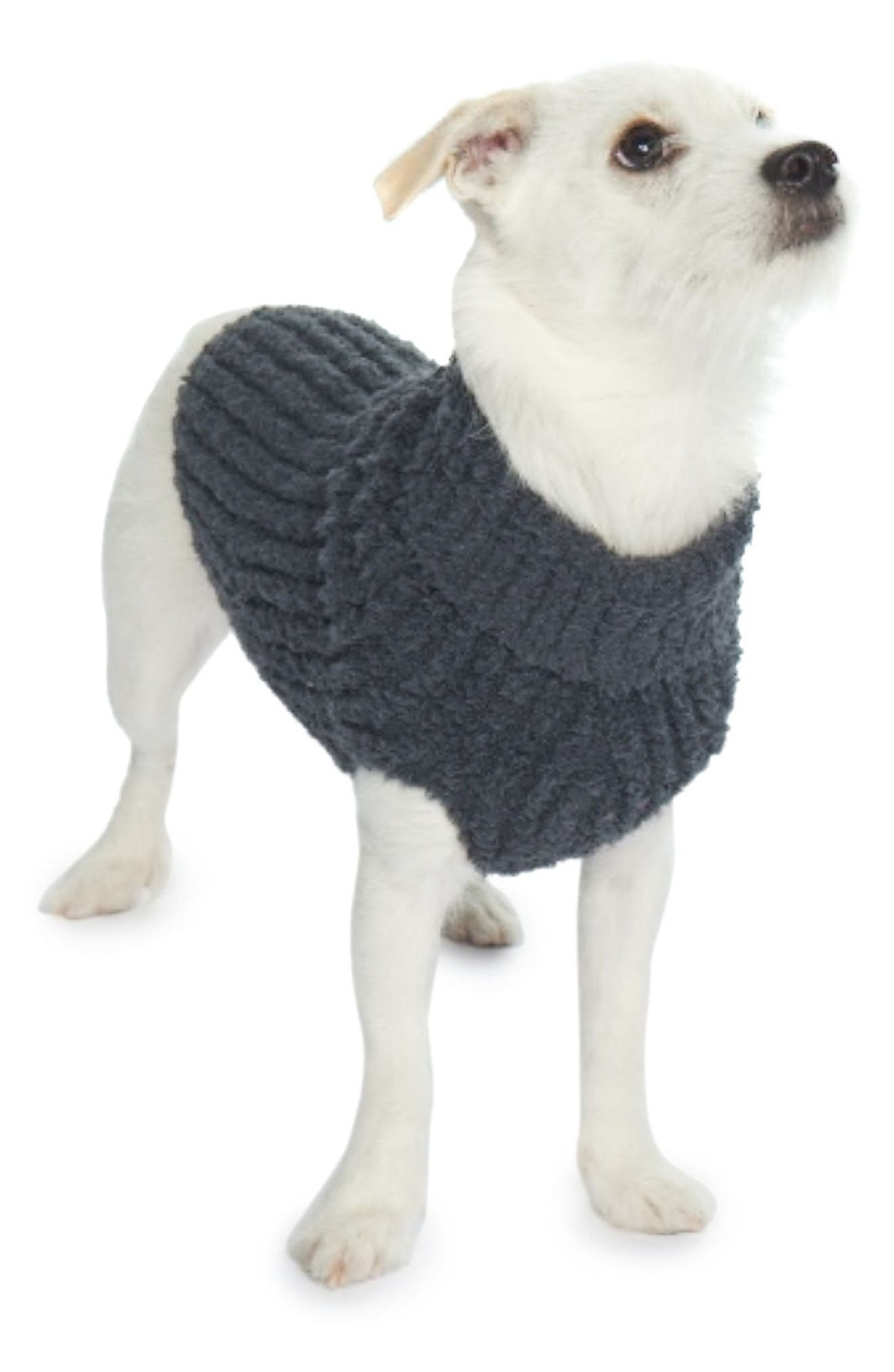 CozyChic Ribbed Pet Sweater<sup>™</sup>,                             Alternate thumbnail 5, color,