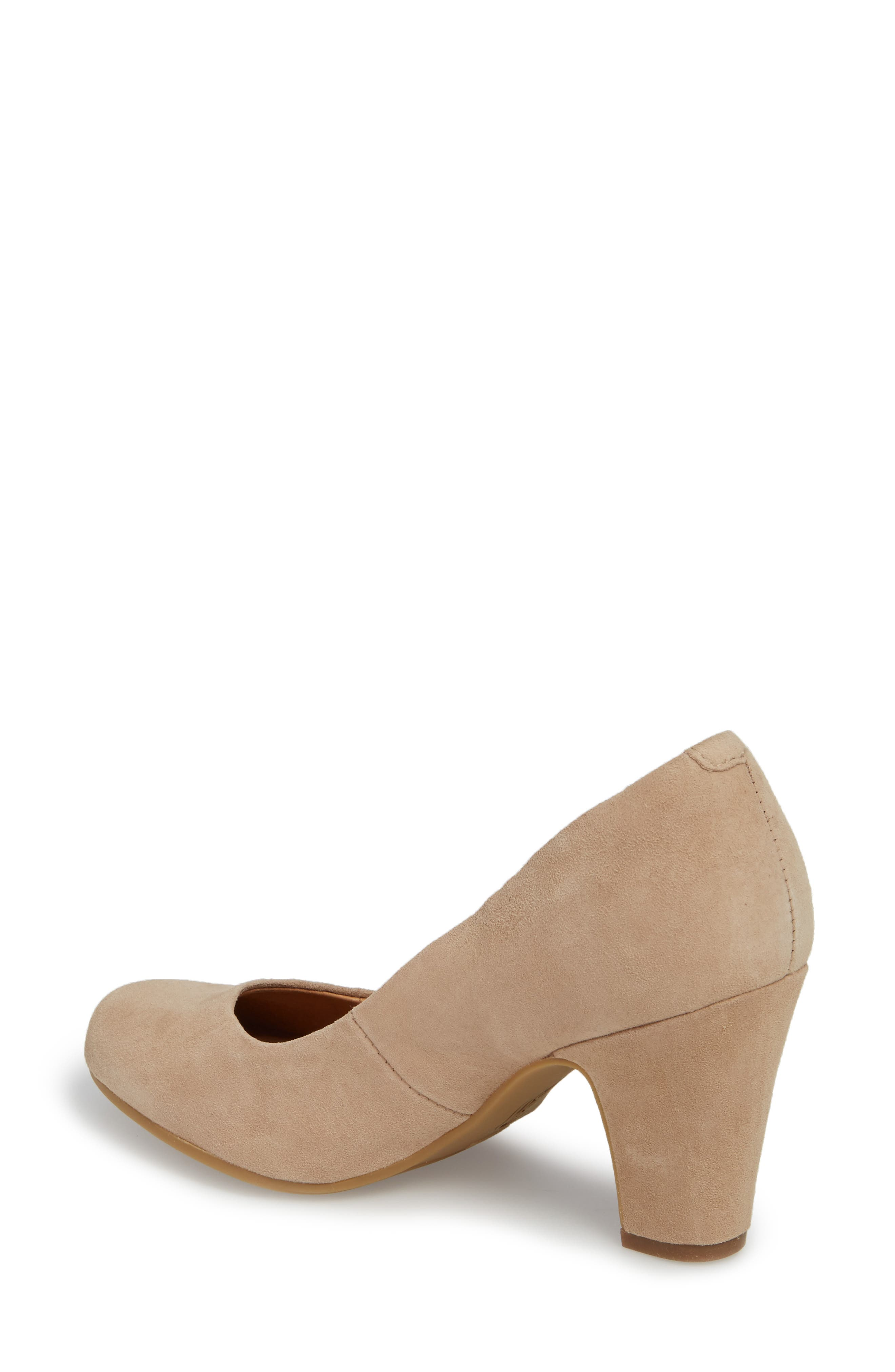 Madina Pump,                             Alternate thumbnail 2, color,                             BAYWATER SUEDE