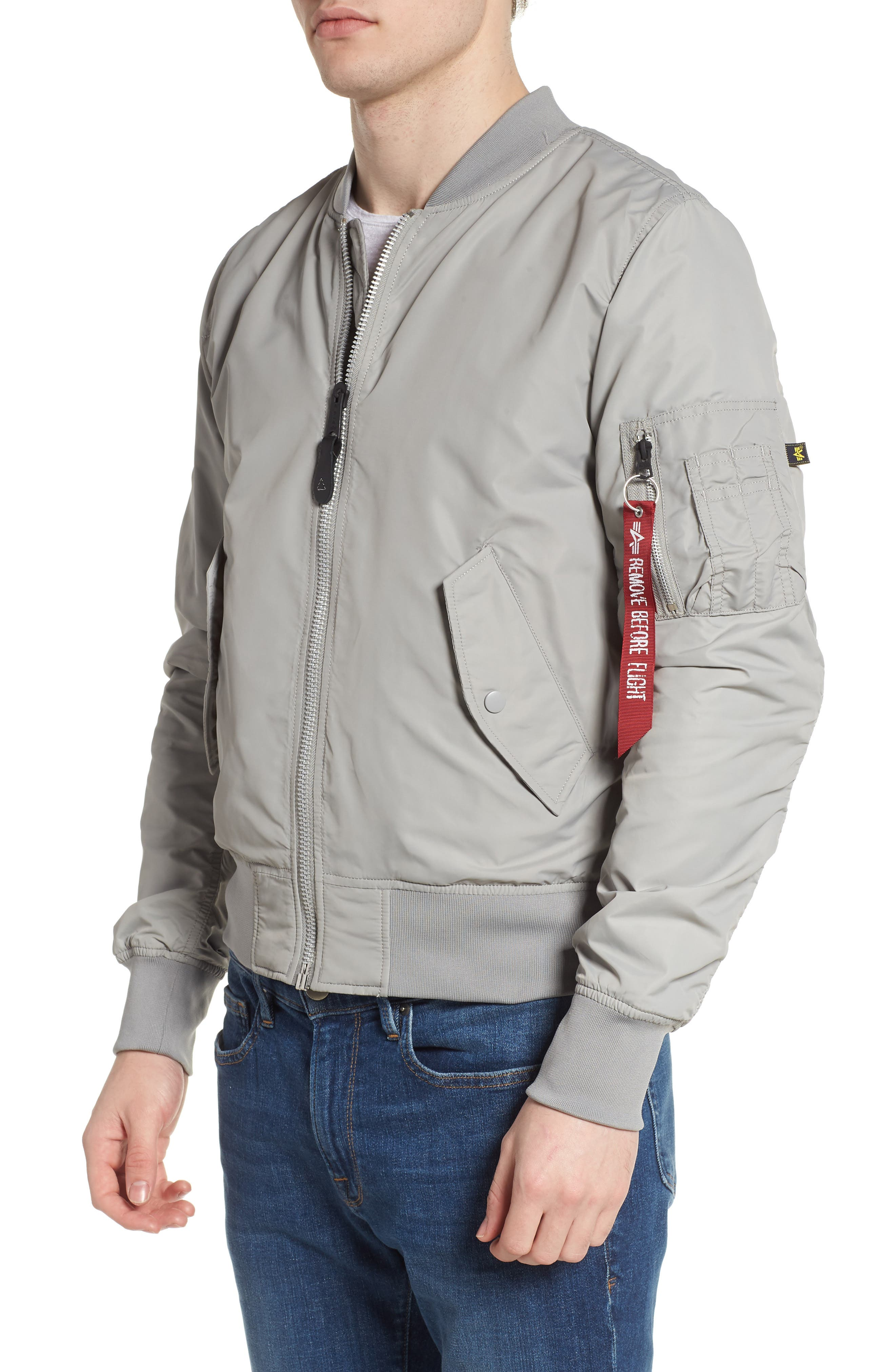 LB-2 Scout Reversible Flight Jacket,                             Alternate thumbnail 25, color,