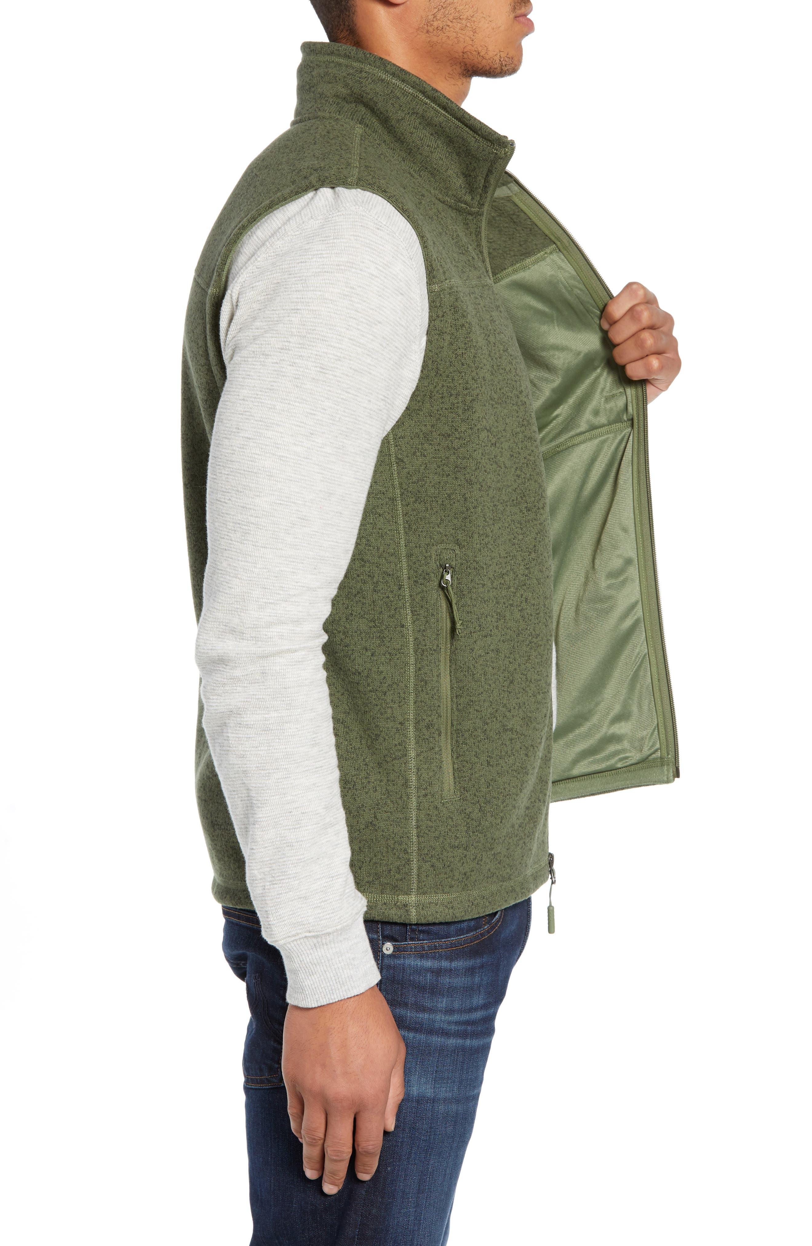 Gordon Lyons Zip Fleece Vest,                             Alternate thumbnail 14, color,