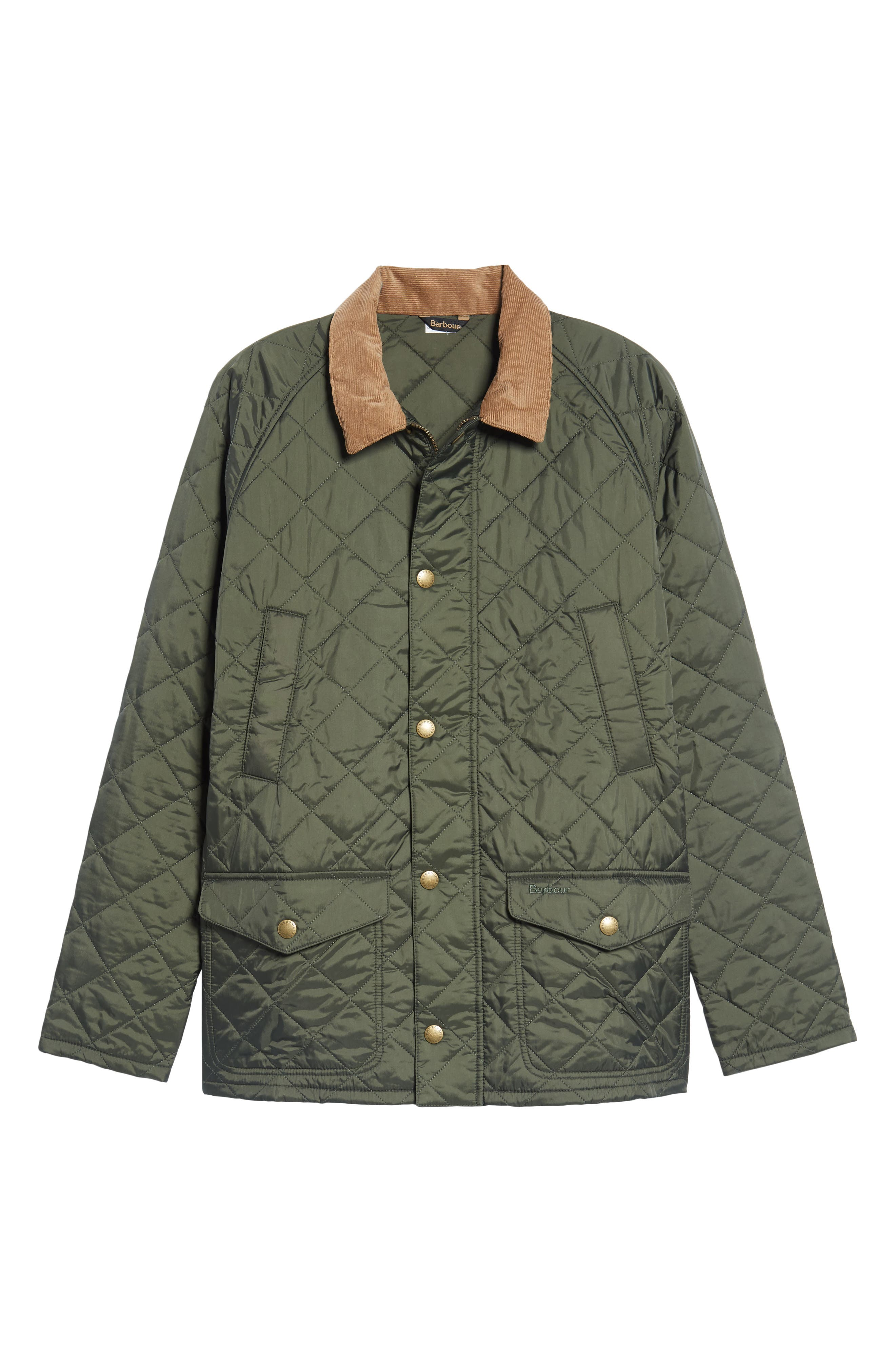 'Canterdale' Slim Fit Water-Resistant Diamond Quilted Jacket,                             Alternate thumbnail 6, color,                             305