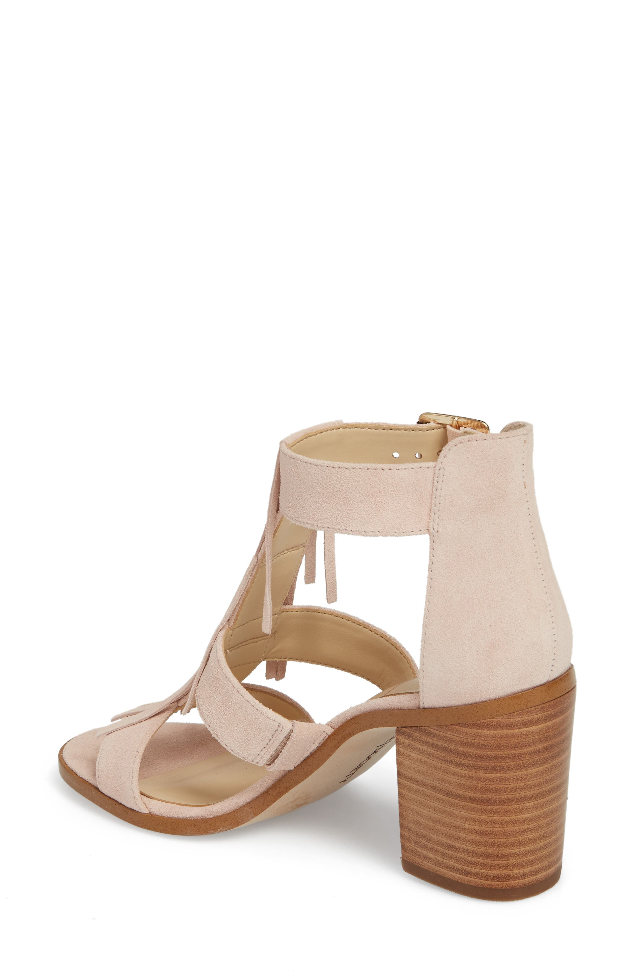 'Delilah' Fringe Sandal,                             Alternate thumbnail 11, color,
