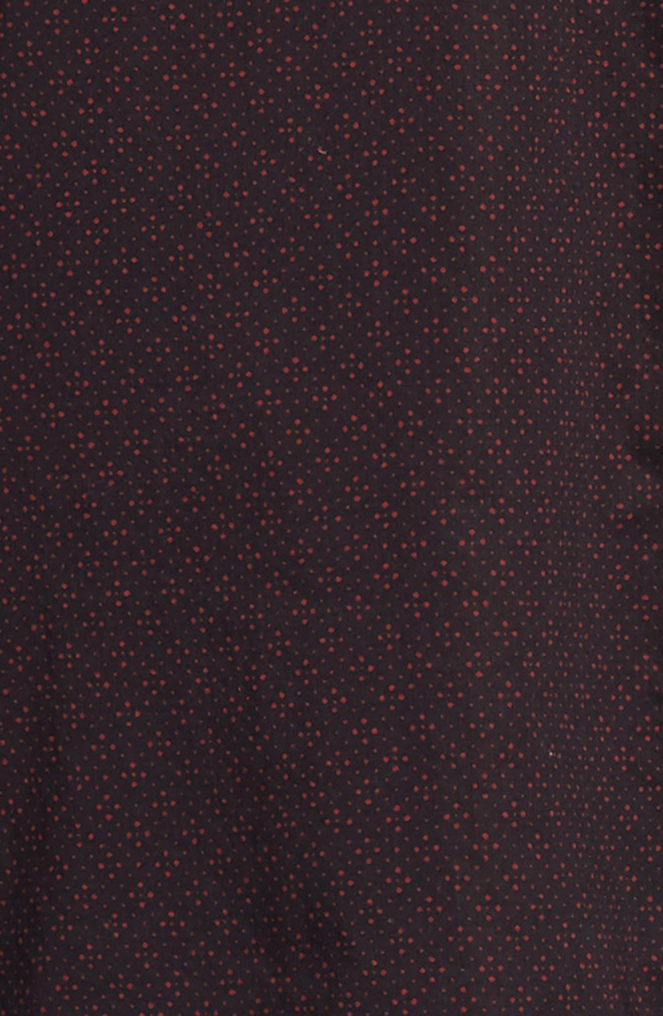 Diamond Print Sport Shirt,                             Alternate thumbnail 6, color,                             RED CLAY