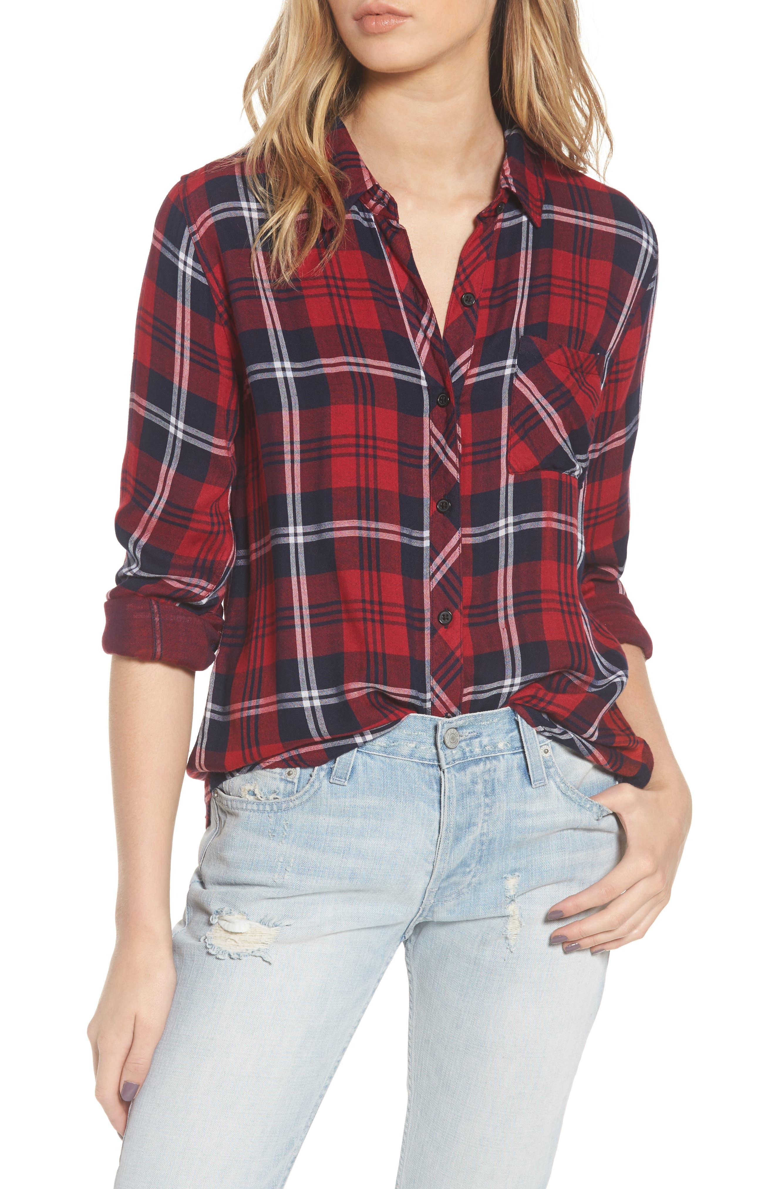 Taitum Plaid Shirt,                         Main,                         color, 622