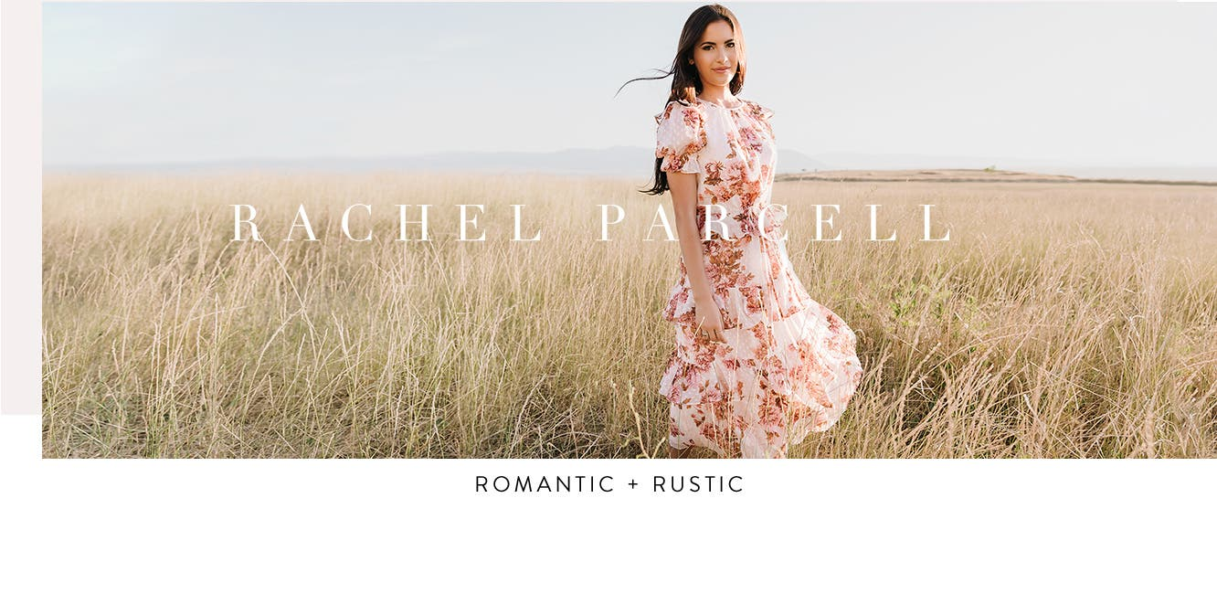 Rachel Parcell: romantic and rustic clothing and accessories.