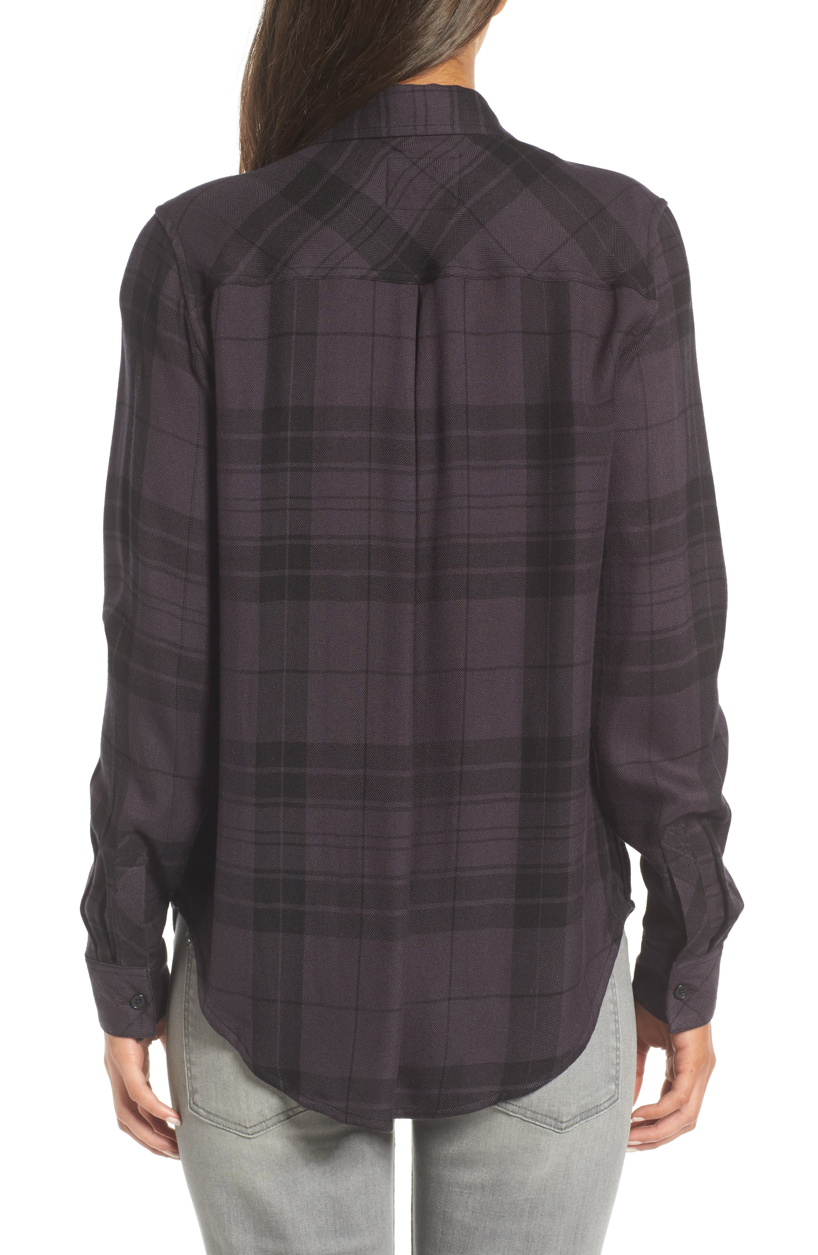 Hunter Plaid Shirt,                             Alternate thumbnail 235, color,