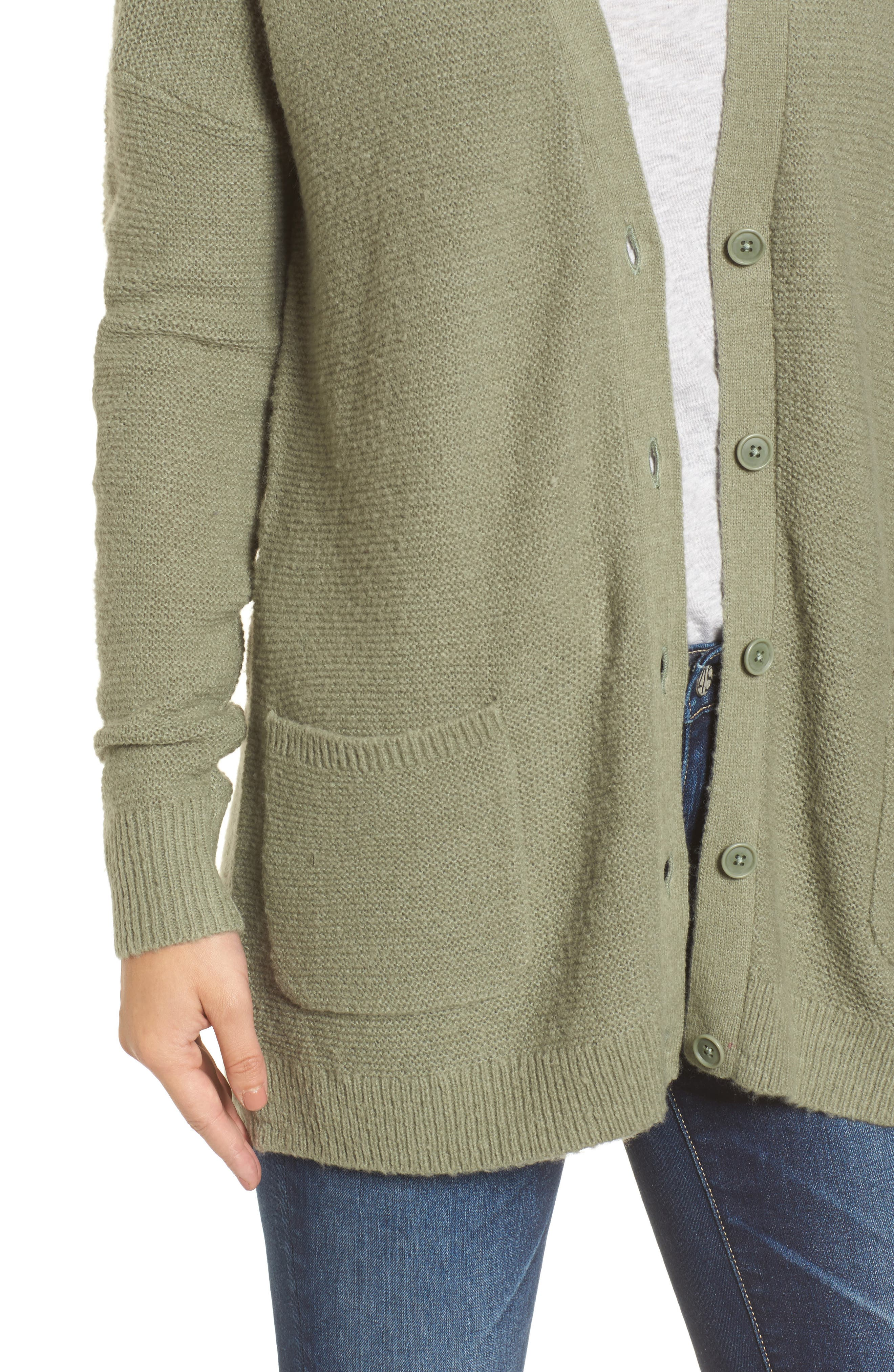 Relaxed Boyfriend Cardigan,                             Alternate thumbnail 23, color,