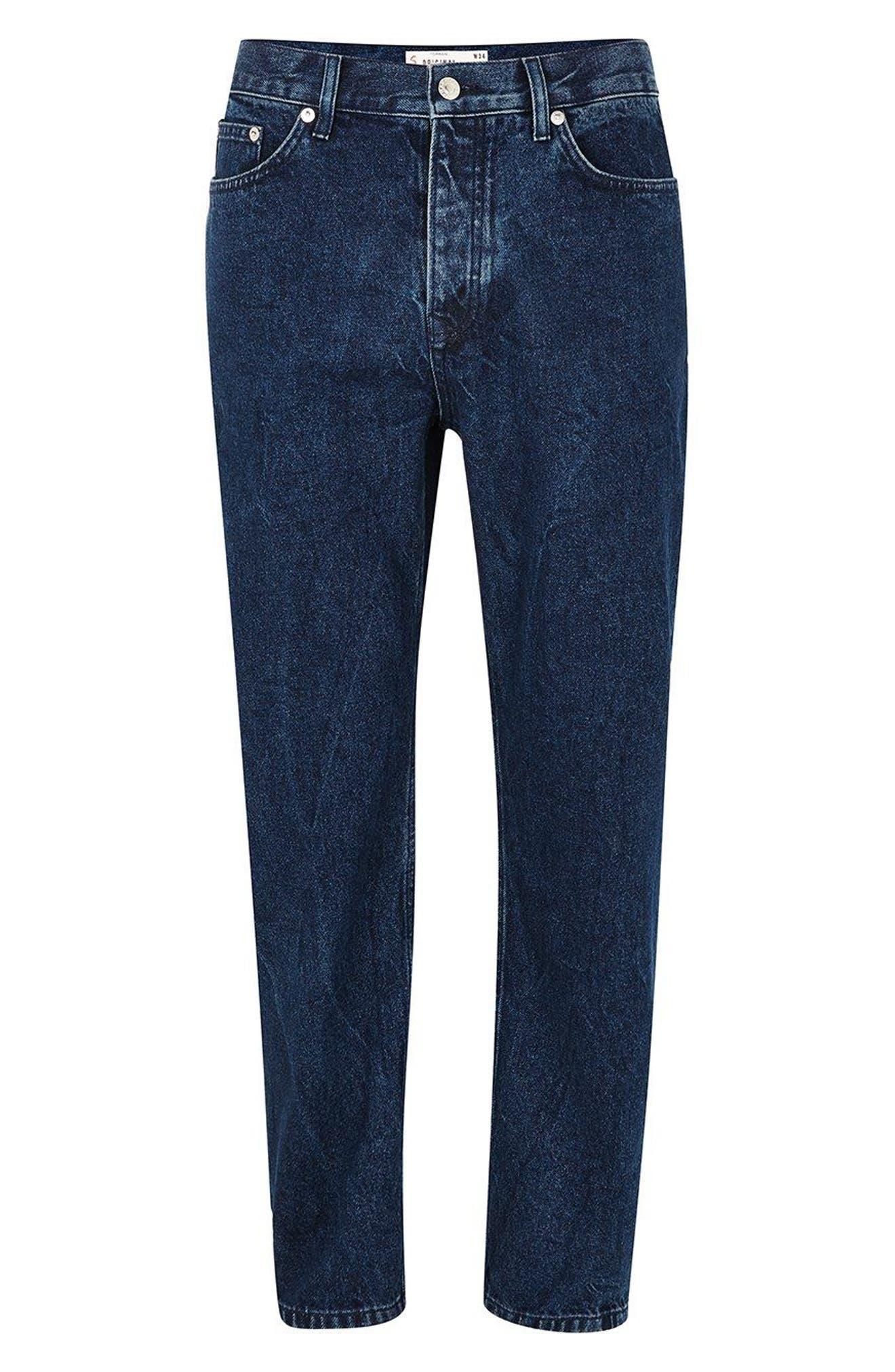 Original Fit Jeans,                             Alternate thumbnail 4, color,                             BLUE