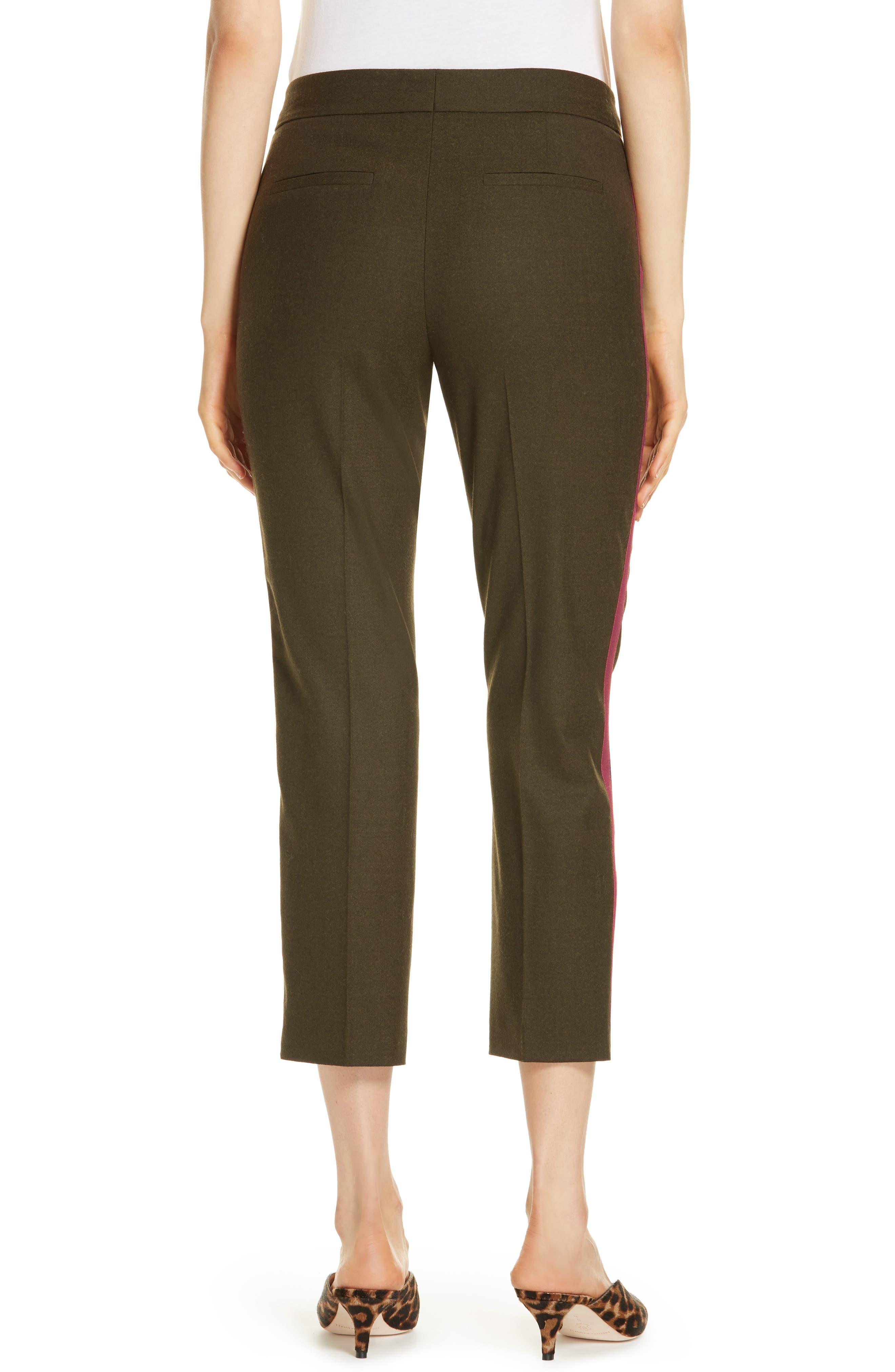 Side Stripe Stretch Flannel Pants,                             Alternate thumbnail 2, color,                             301