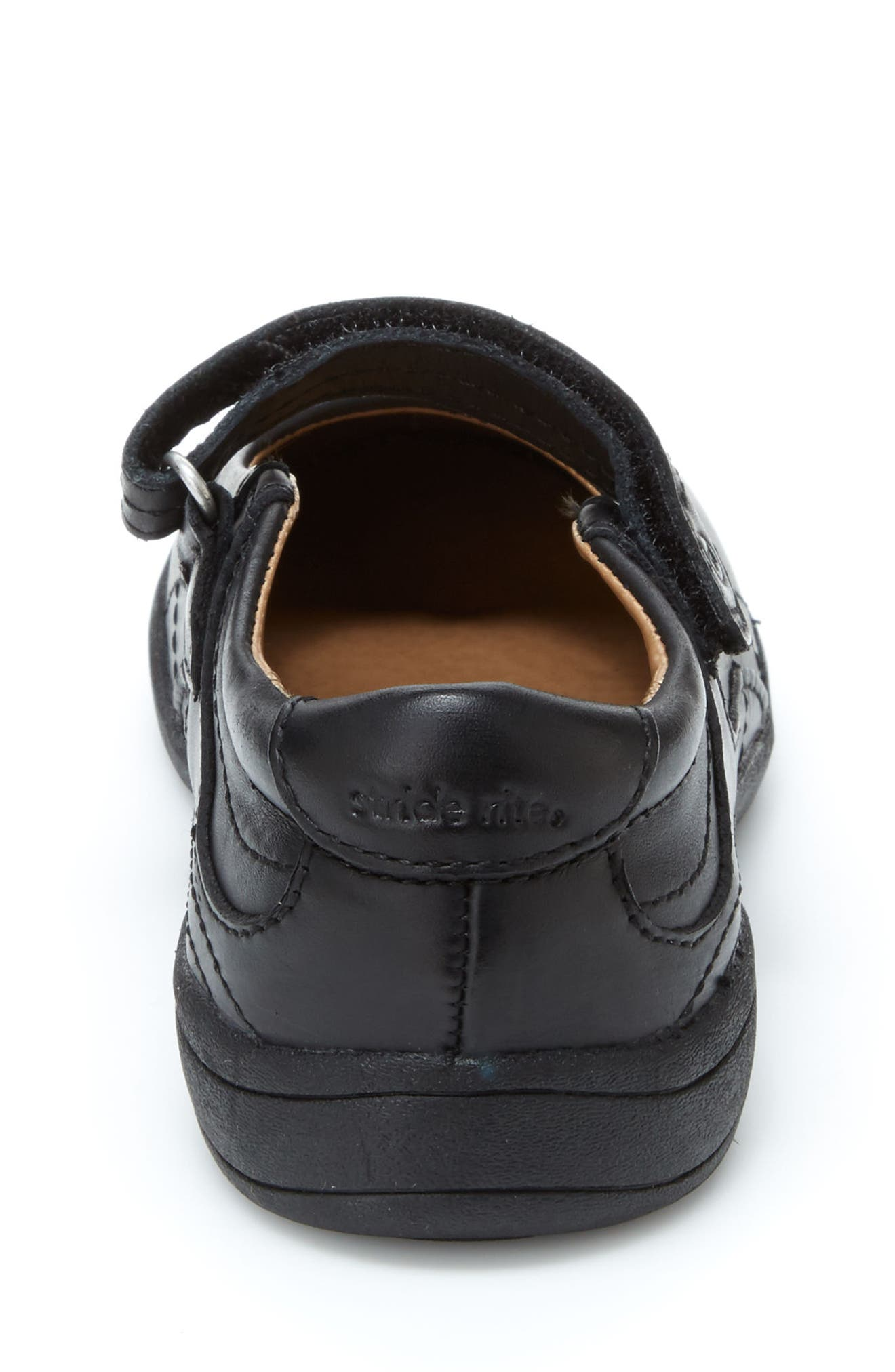 STRIDE RITE,                             'Claire' Mary Jane,                             Alternate thumbnail 7, color,                             BLACK