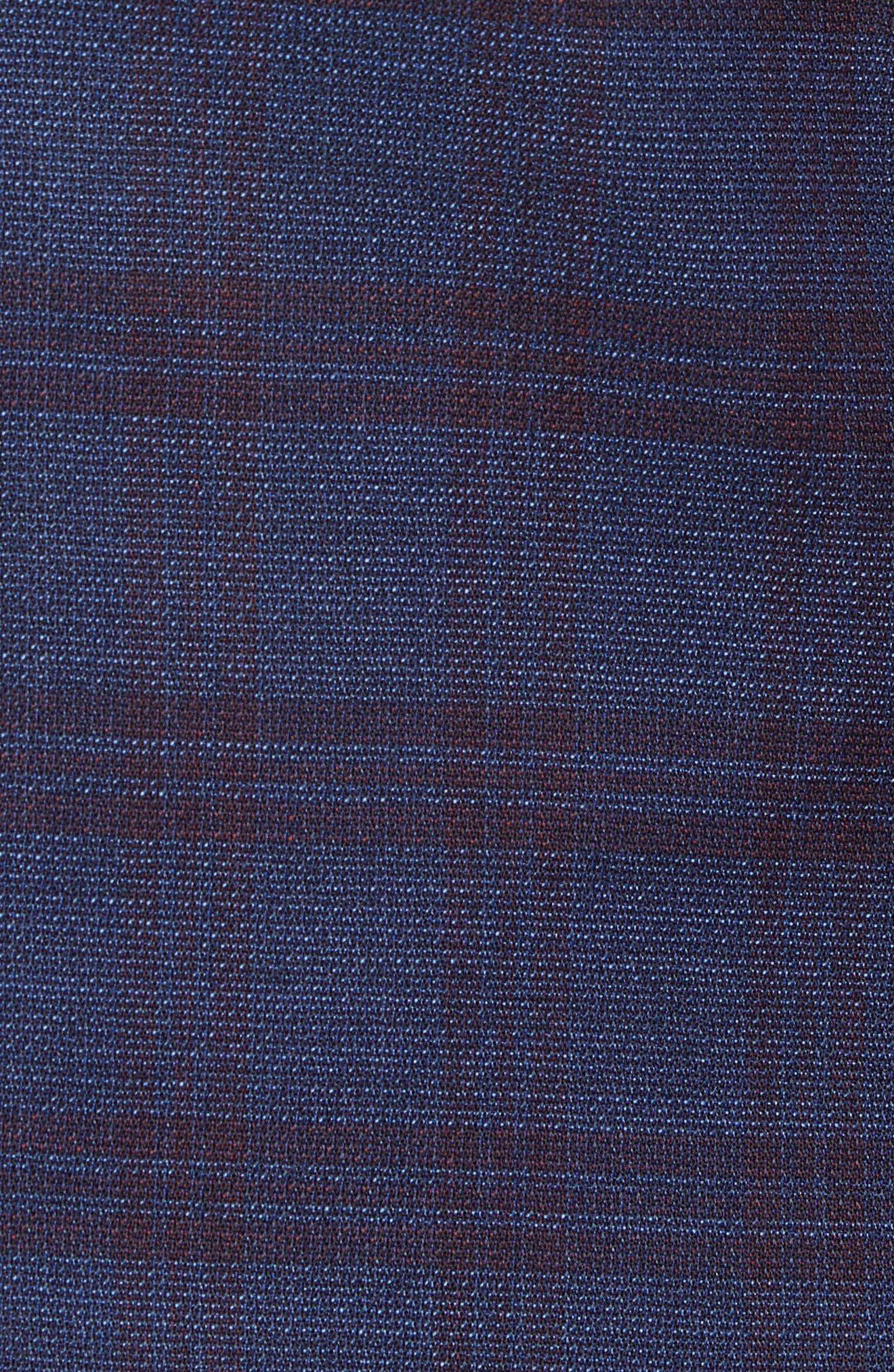 Jewels Classic Fit Plaid Wool Sport Coat,                             Alternate thumbnail 6, color,                             OPEN BLUE