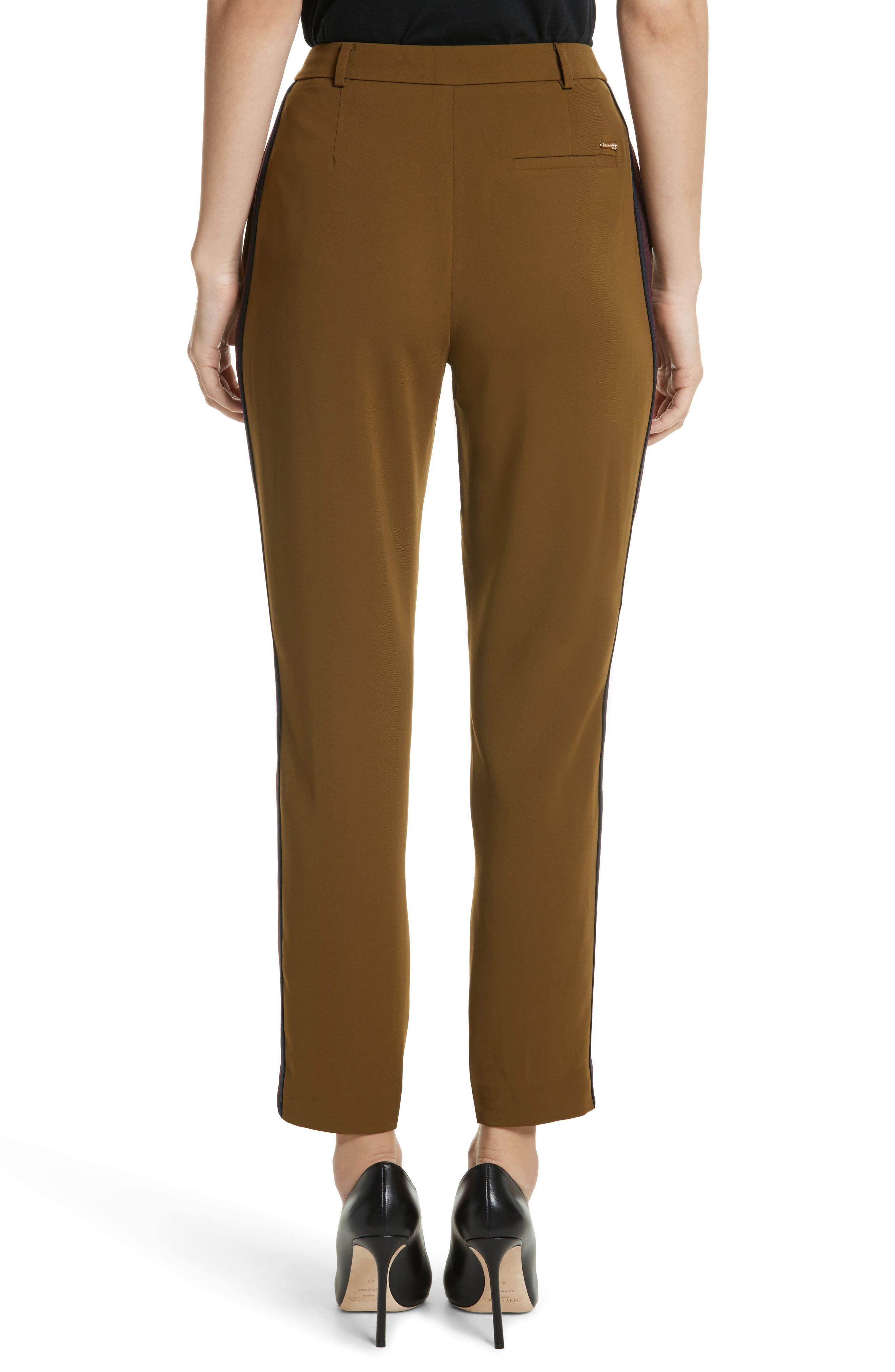 Baya Stripe Ankle Trousers,                             Alternate thumbnail 2, color,                             252