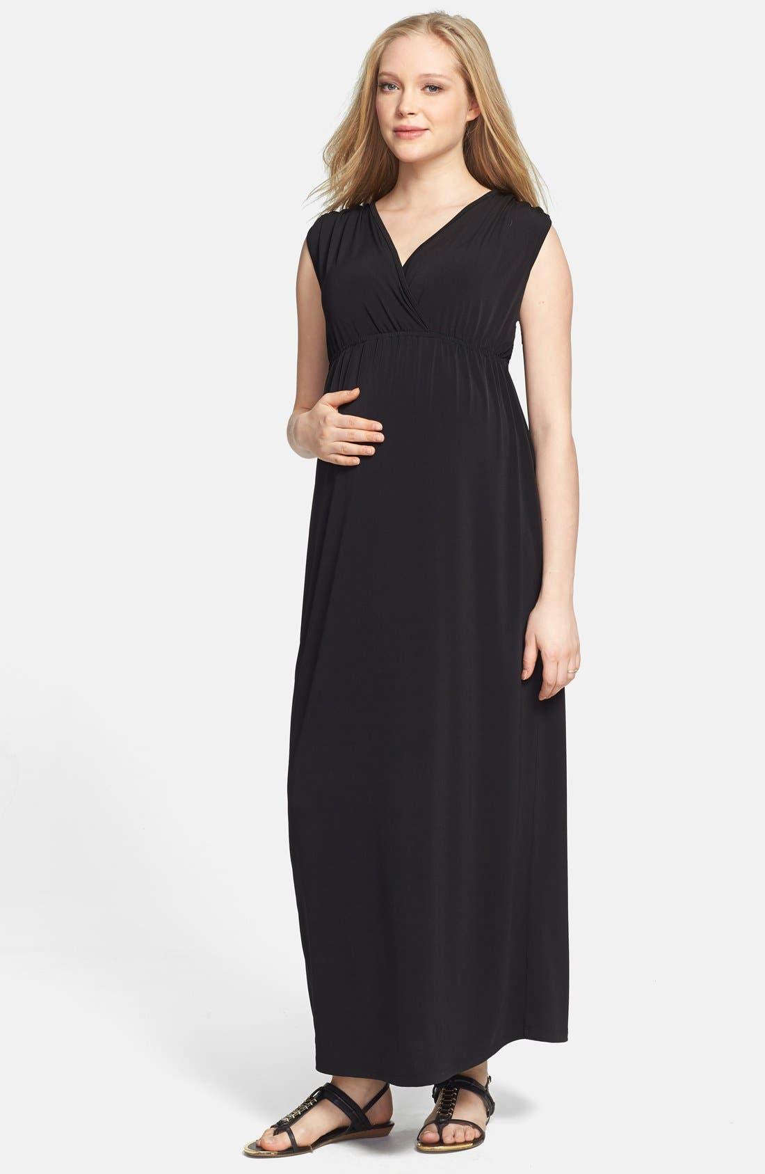 Maxi Dress,                         Main,                         color, 001