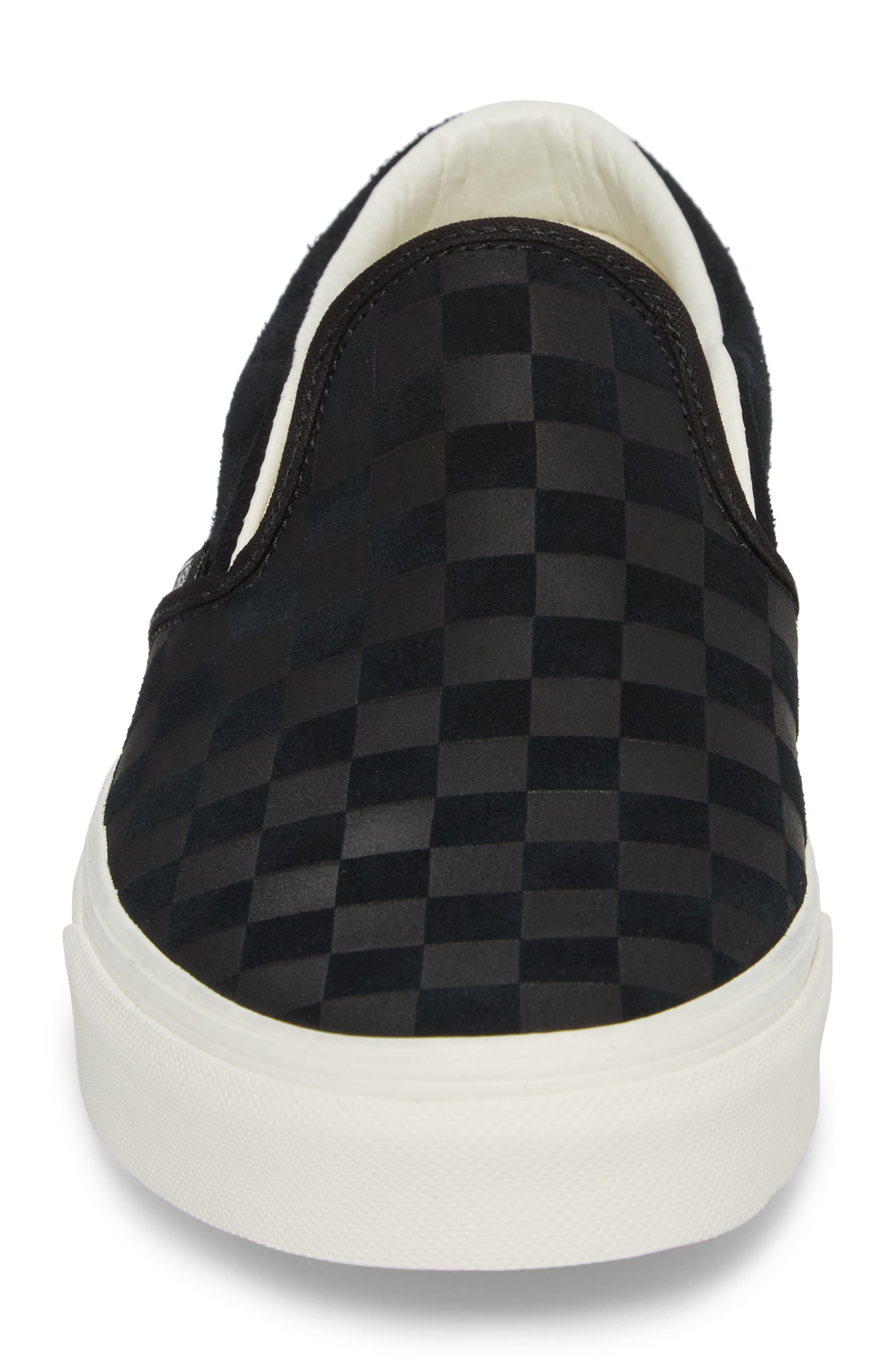 Classic Slip-On Sneaker,                             Alternate thumbnail 4, color,                             001