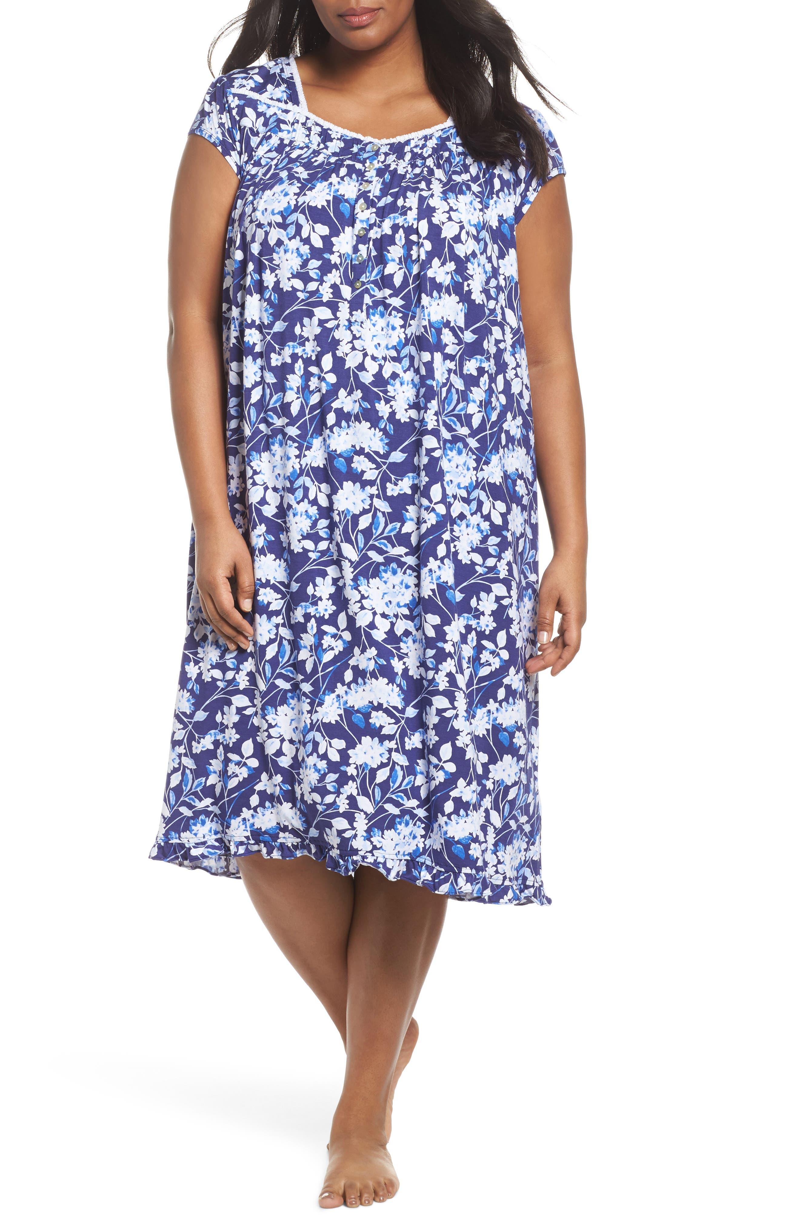 Modal Jersey Waltz Nightgown,                             Main thumbnail 1, color,                             400