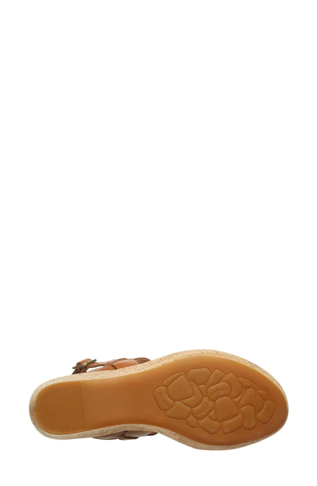 'Austin' Slingback Wedge Sandal,                             Alternate thumbnail 39, color,